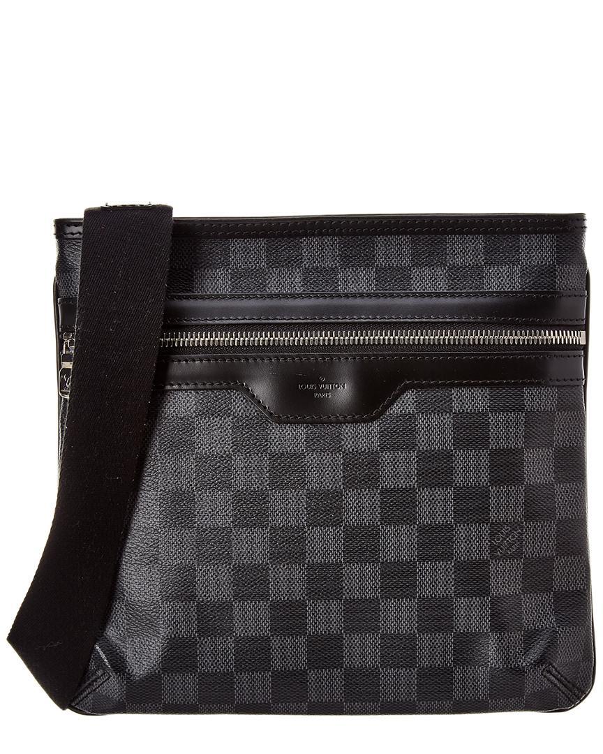 d2552564f180 Lyst - Louis Vuitton Damier Graphite Canvas Thomas for Men