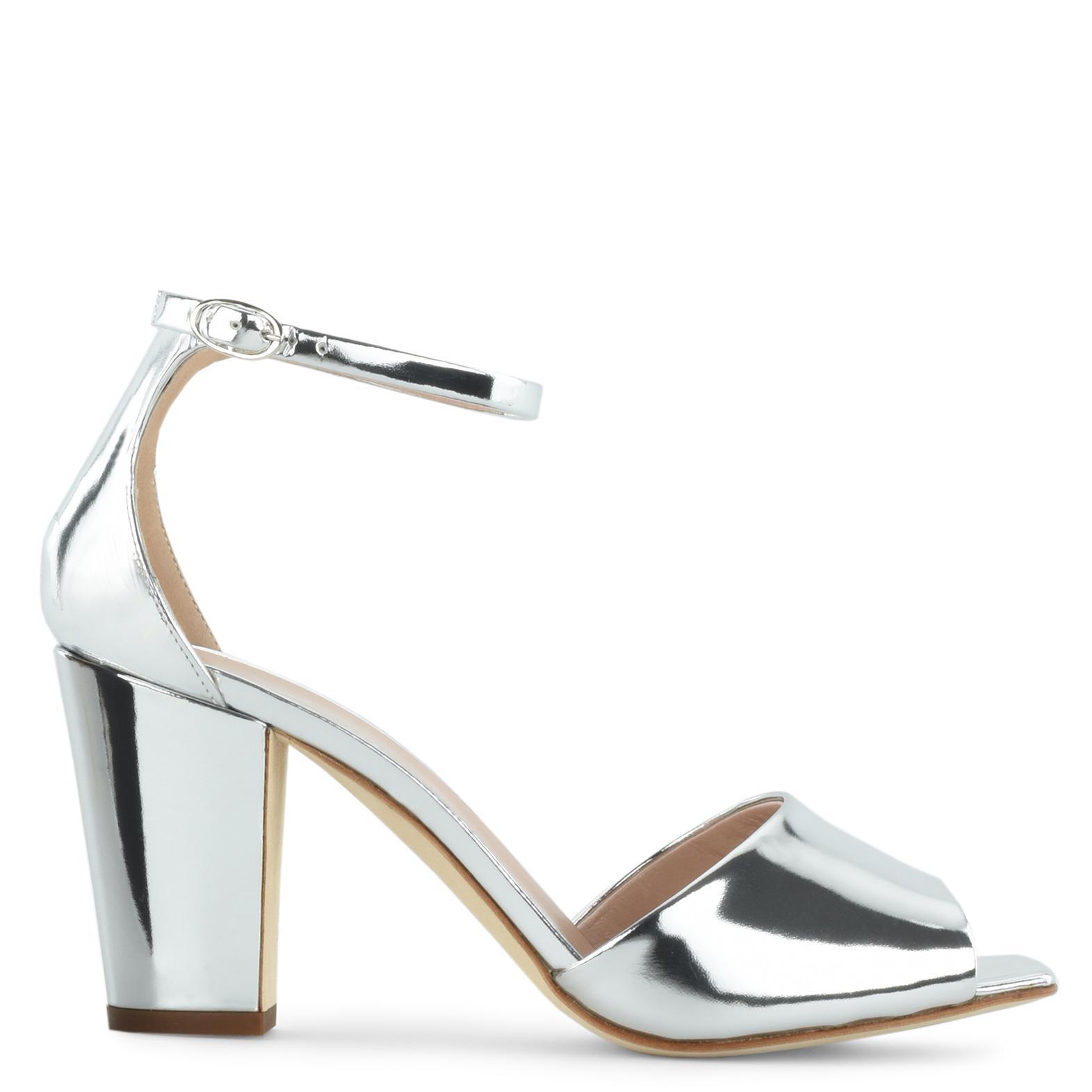 Giuseppe Zanotti Patent leather sandal with chunky heel EMMANUELLE 5ifpCz