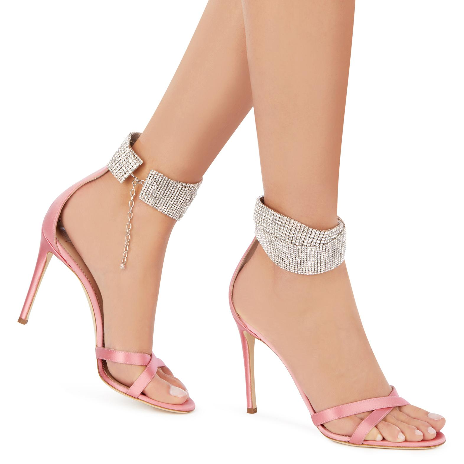 Giuseppe Pink Janell Zanotti Lyst In pwdHZqqC