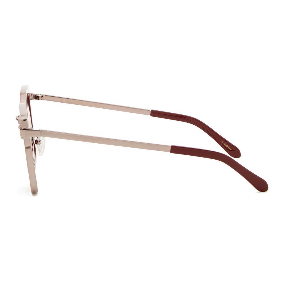 4743dc0f65f Lyst - Karen Walker Rebellion Burgundy Sunglasses