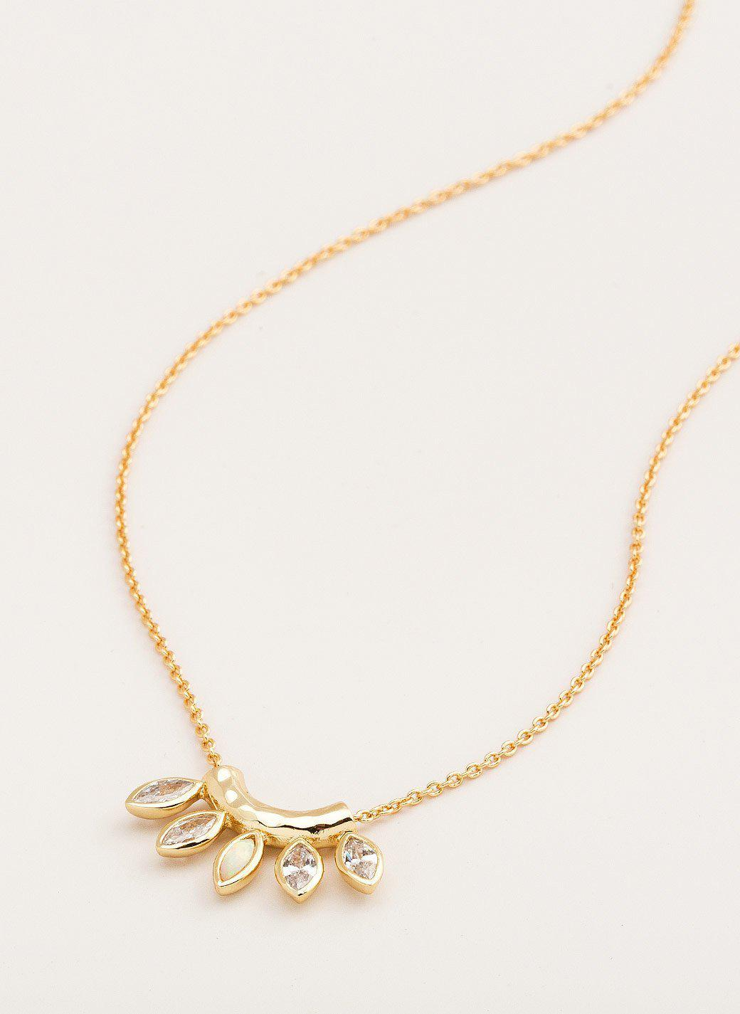 Gorjana Rumi Confetti Adjustable Necklace Os5TG72