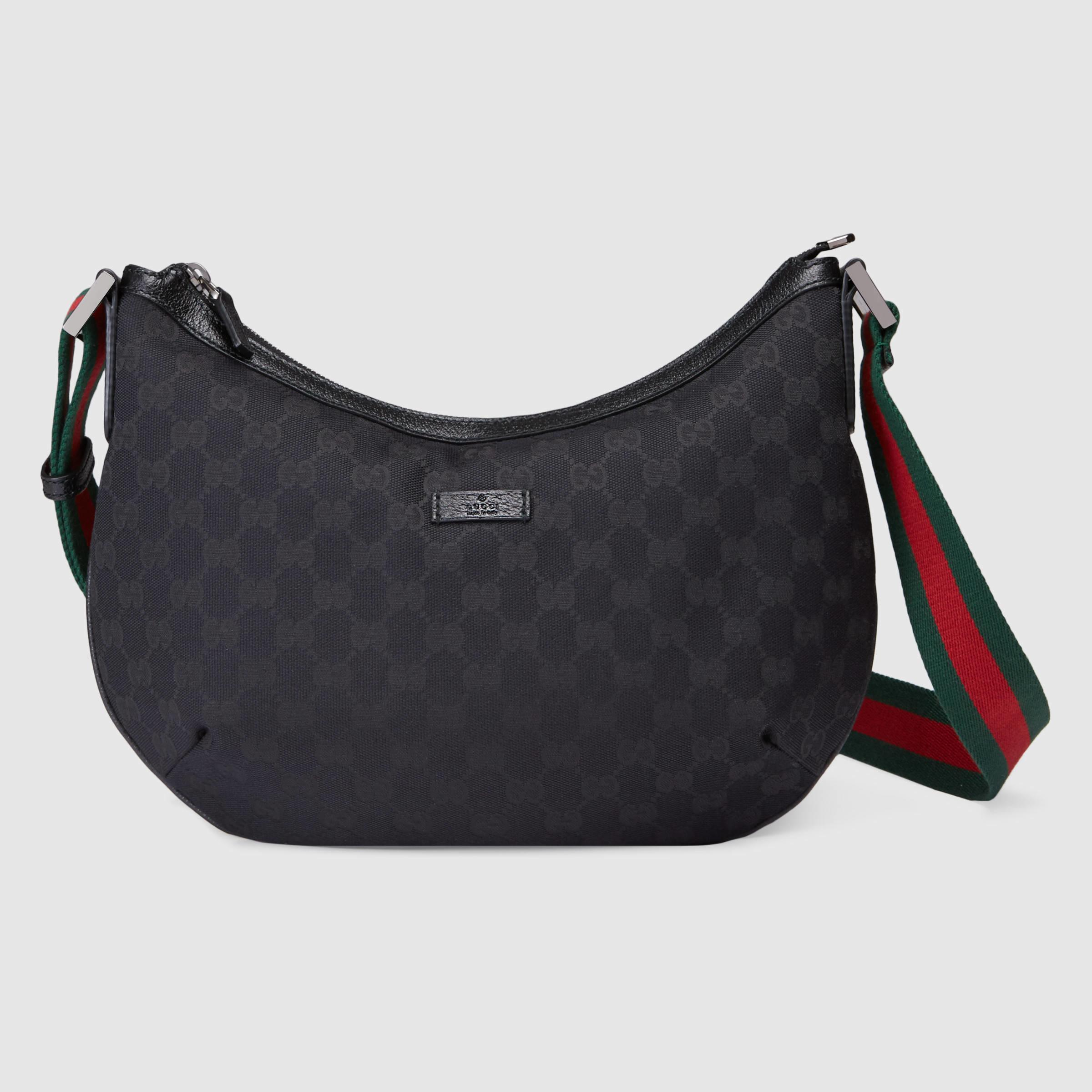 cd7498caa4e Lyst - Gucci Original Gg Canvas Messenger Bag in Green for Men