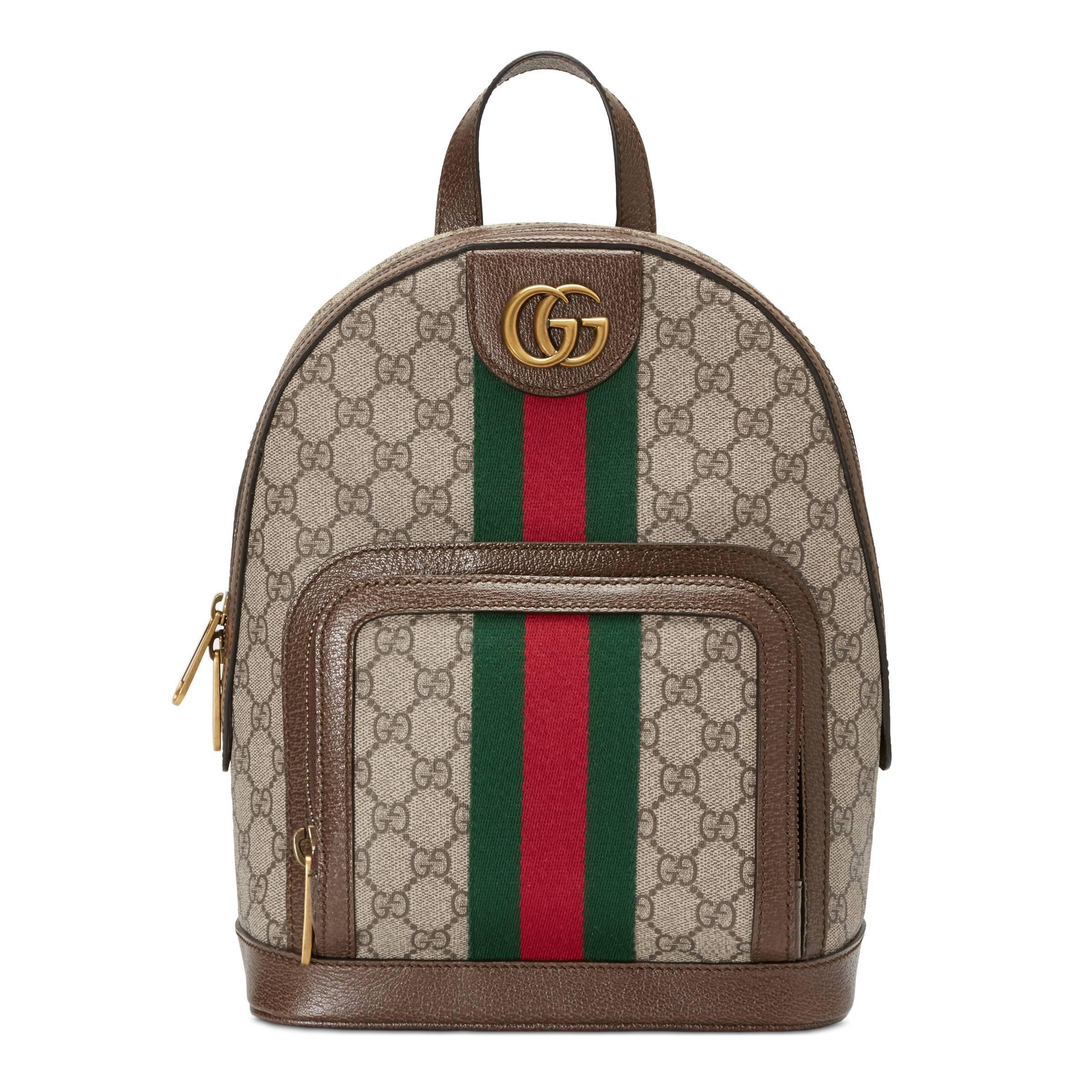 c170e2240 Gucci - Multicolor Mochila Ophidia Pequeña con GG - Lyst. Ver en pantalla  completa