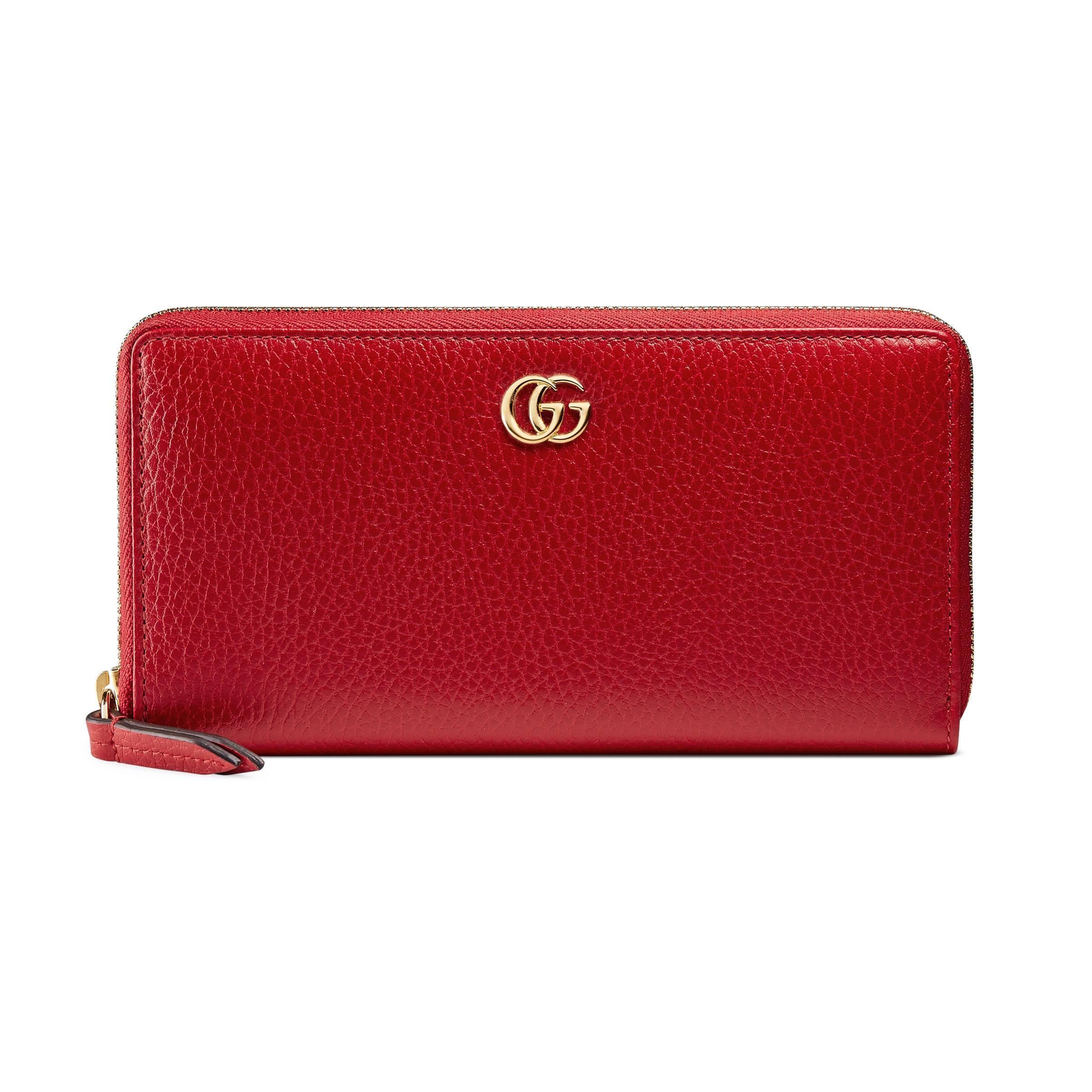 d68096dc0d02 Gucci Portafoglio in Red - Save 10% - Lyst