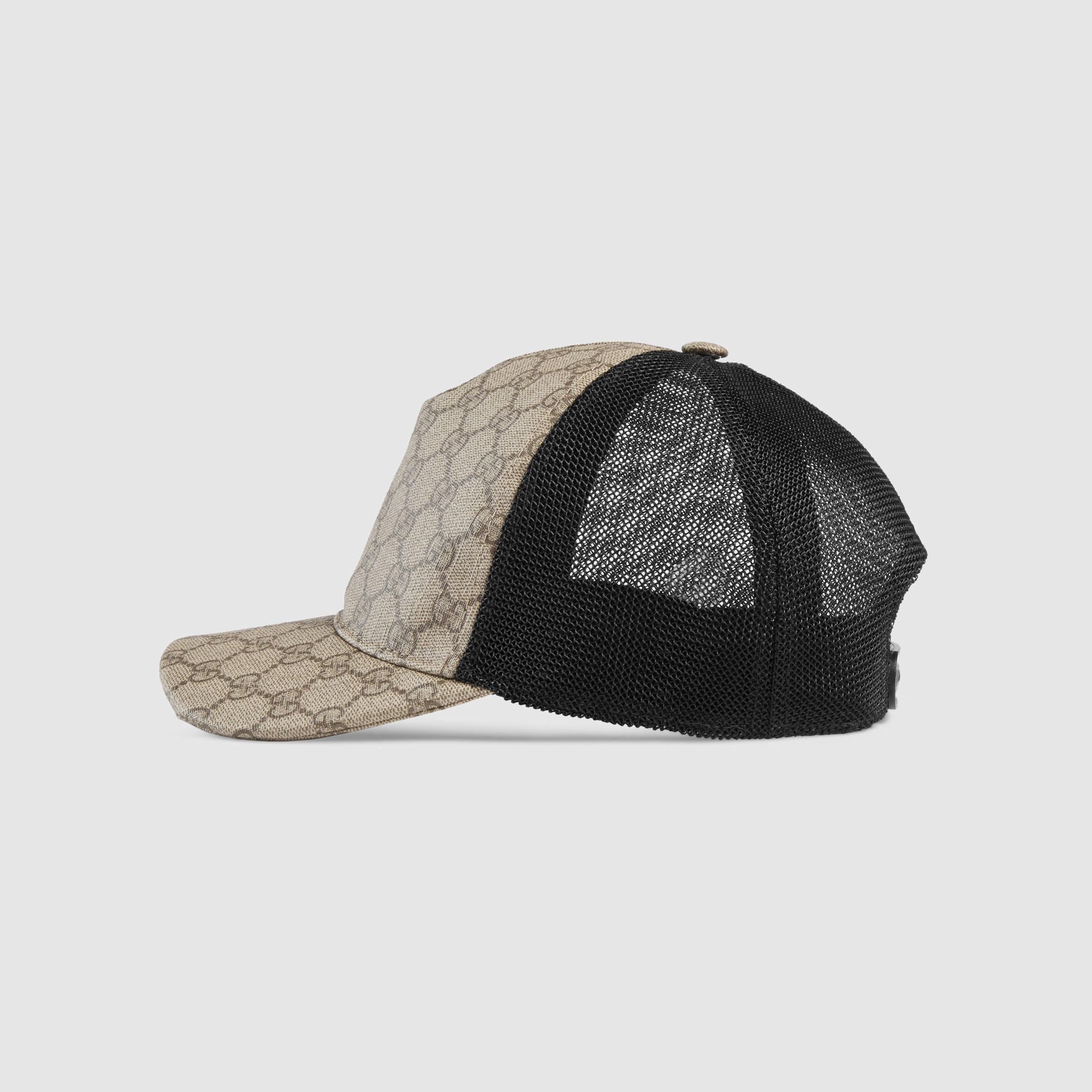 Gucci Gg Supreme Baseball Hat For Men