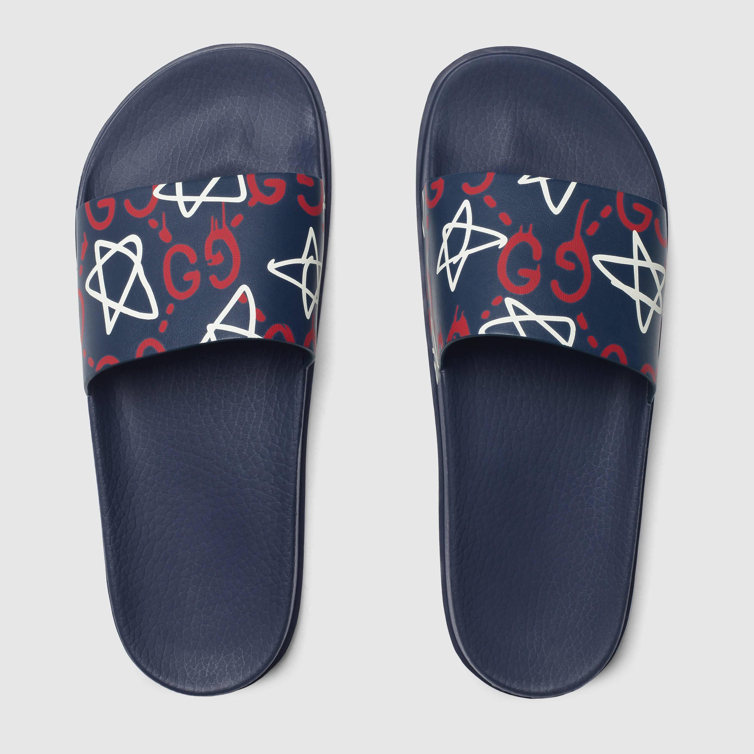959e3155c Gucci Ghost Slide Sandal for Men - Lyst