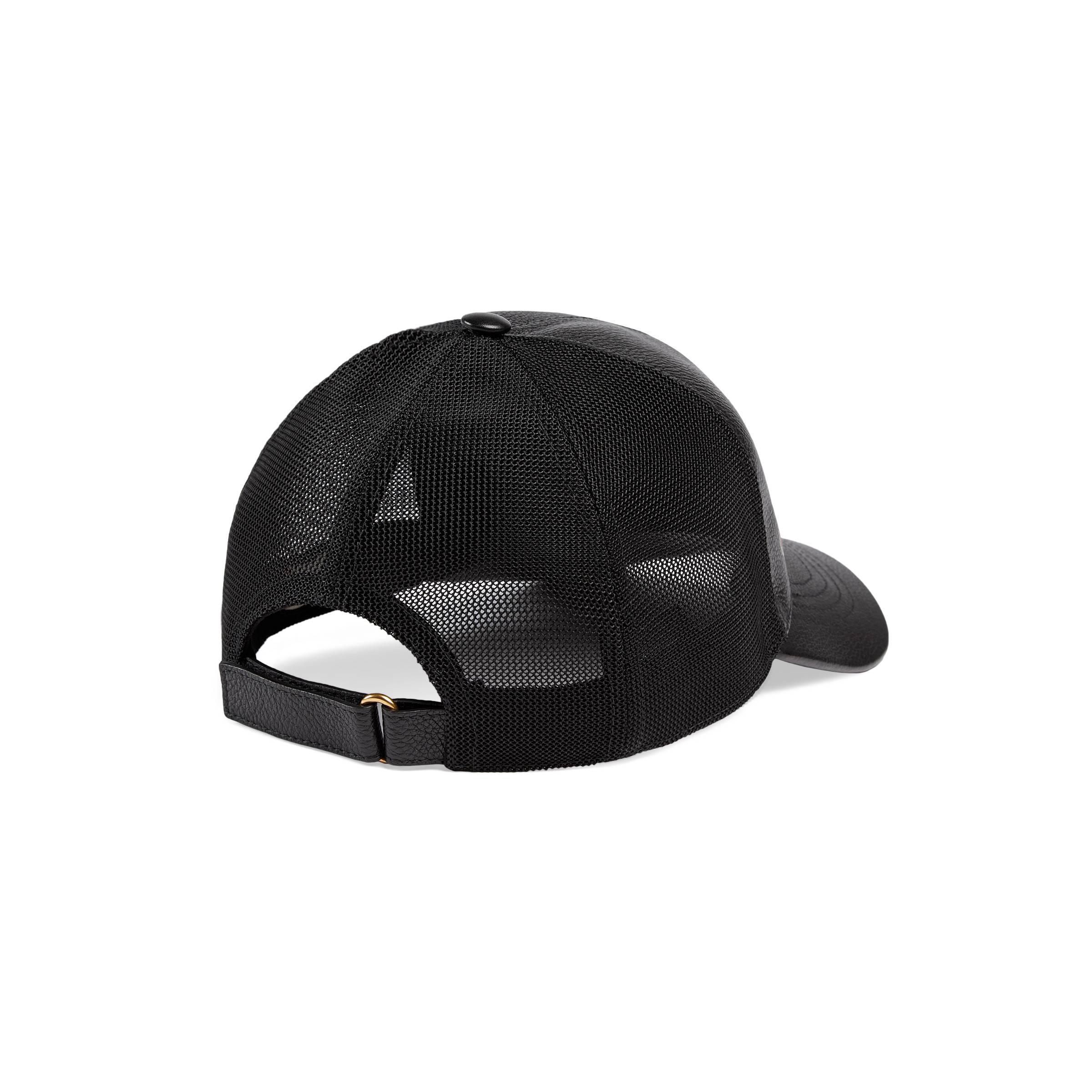 59f159d33b9 Lyst - Casquette à logo imprimé Gucci pour homme en coloris Noir