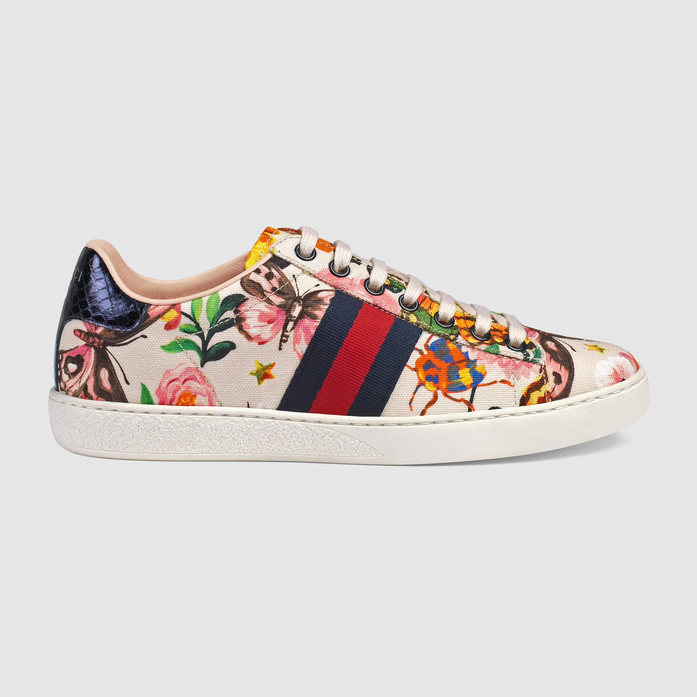 323793975ae Lyst - Gucci Garden Exclusive Ace Sneaker
