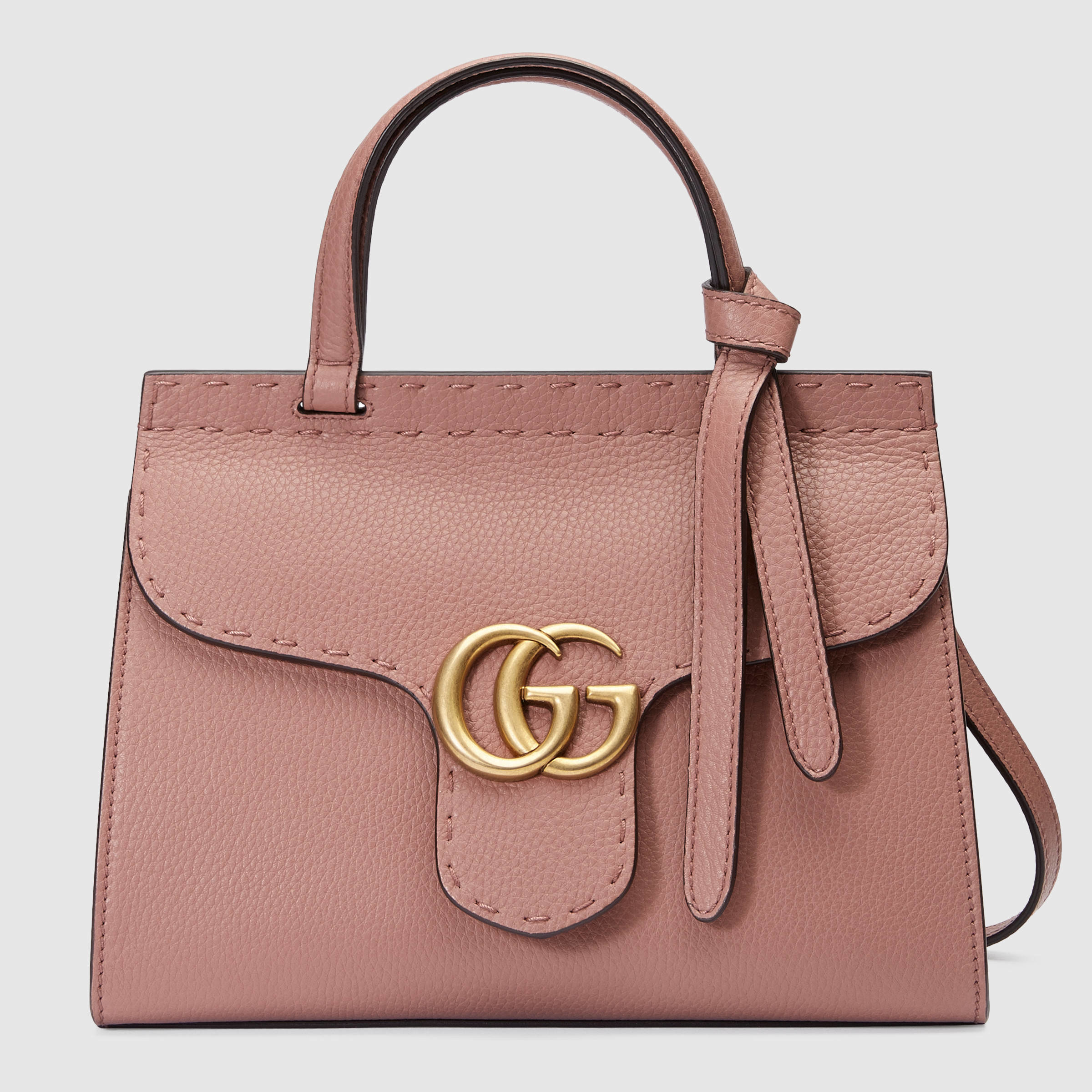 7d58c4824f115d Gucci Gg Marmont Leather Top Handle Mini Bag | Stanford Center for ...