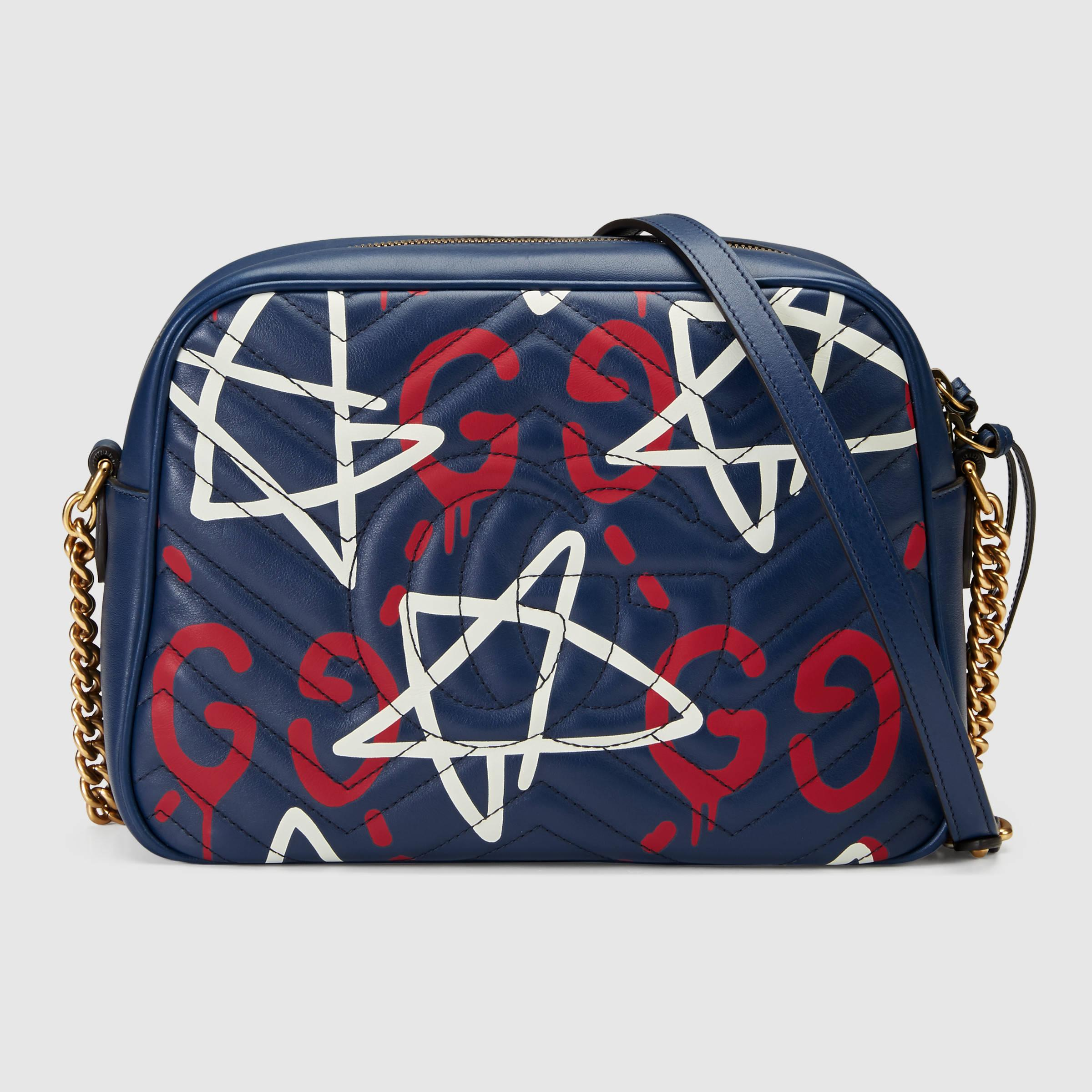 a25bef29d123ad Gucci Gg Marmont Ghost Shoulder Bag - Lyst