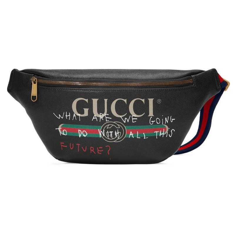 f358c6551d74 Gucci Coco Capitán Logo Belt Bag in Black for Men - Lyst