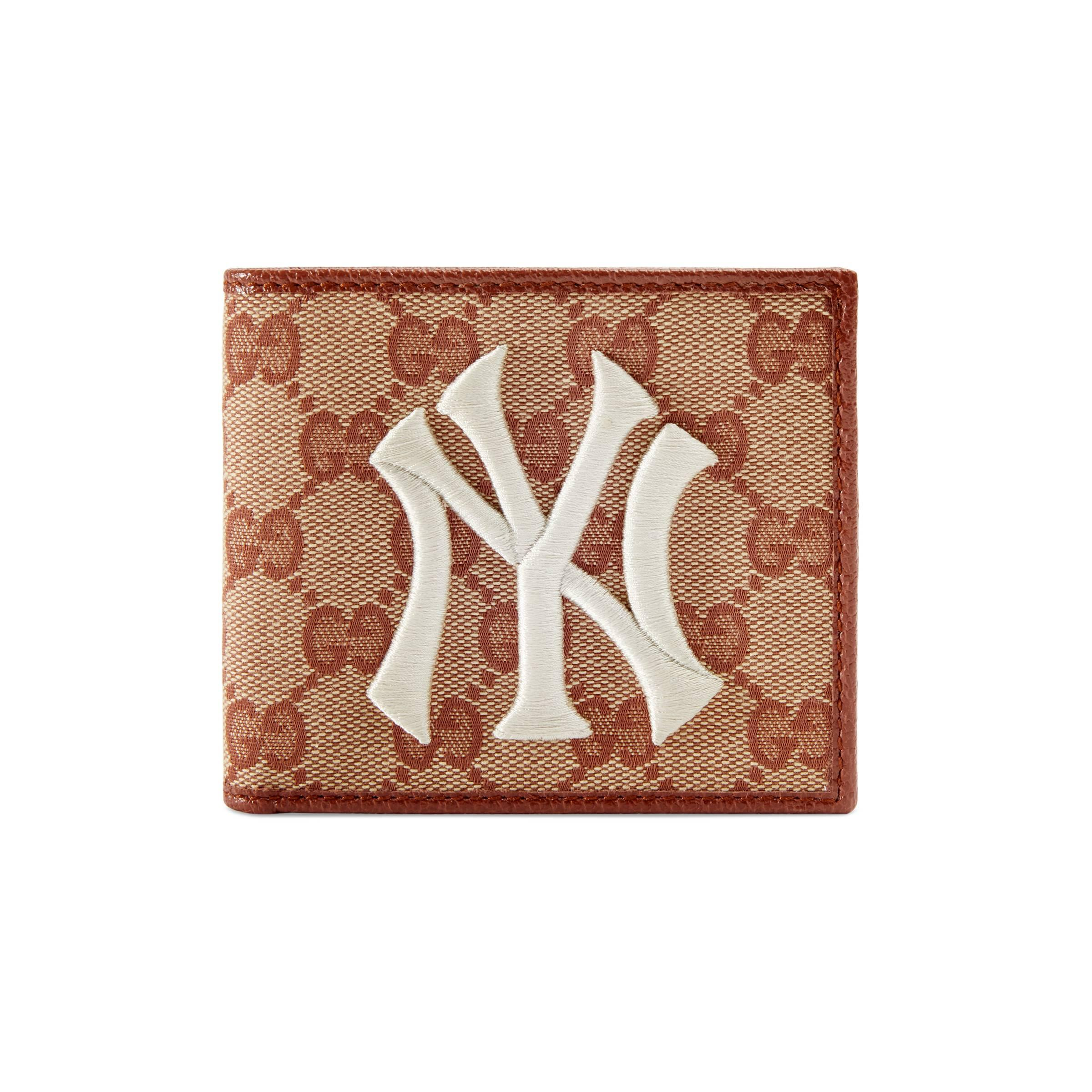 c9db399c3fa Gucci Original GG Canvas Wallet With New York Yankees Patchtm for ...