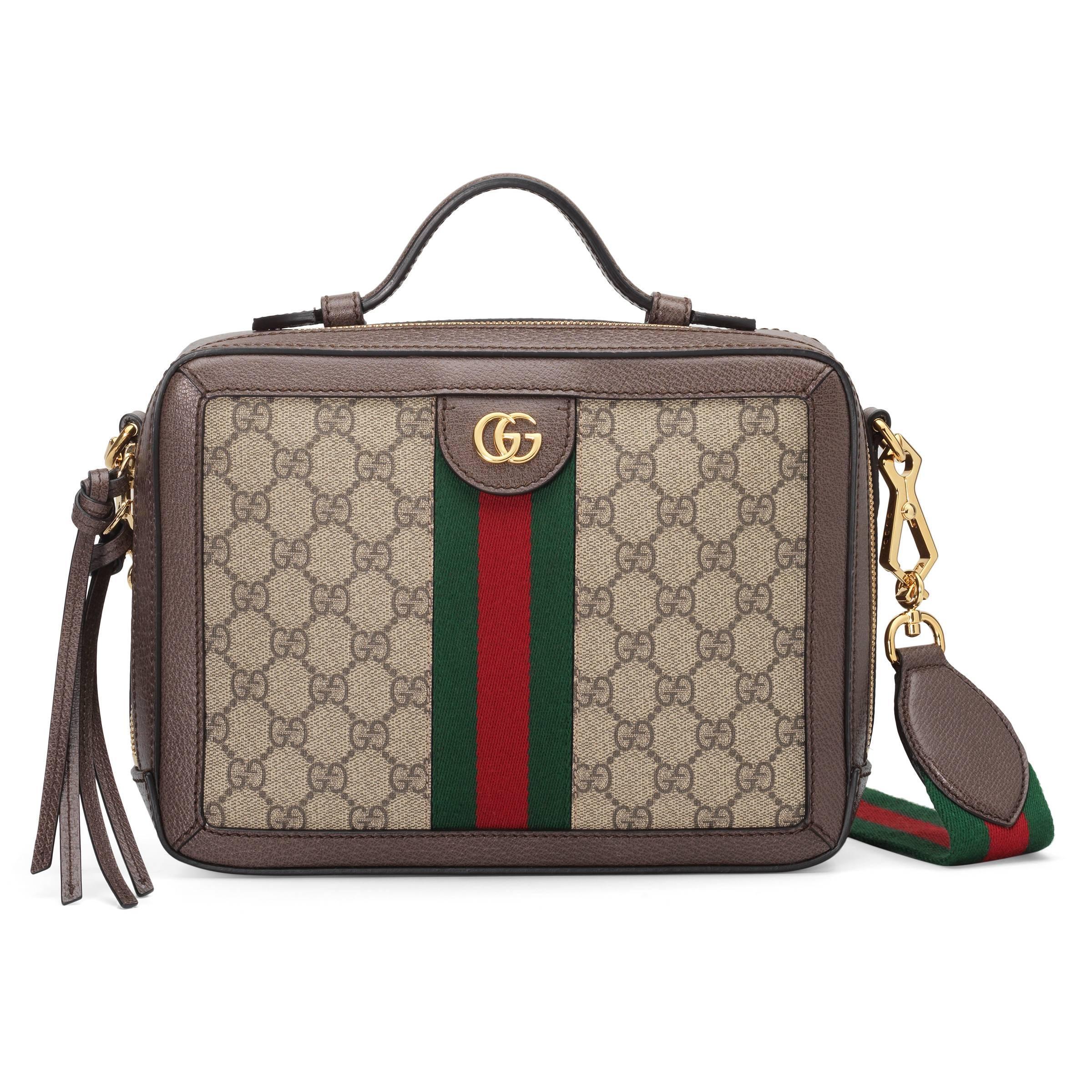 87bb9b80c3 Gucci - Multicolor Bolso de Hombro Ophidia Pequeño con GG - Lyst. Ver en  pantalla completa