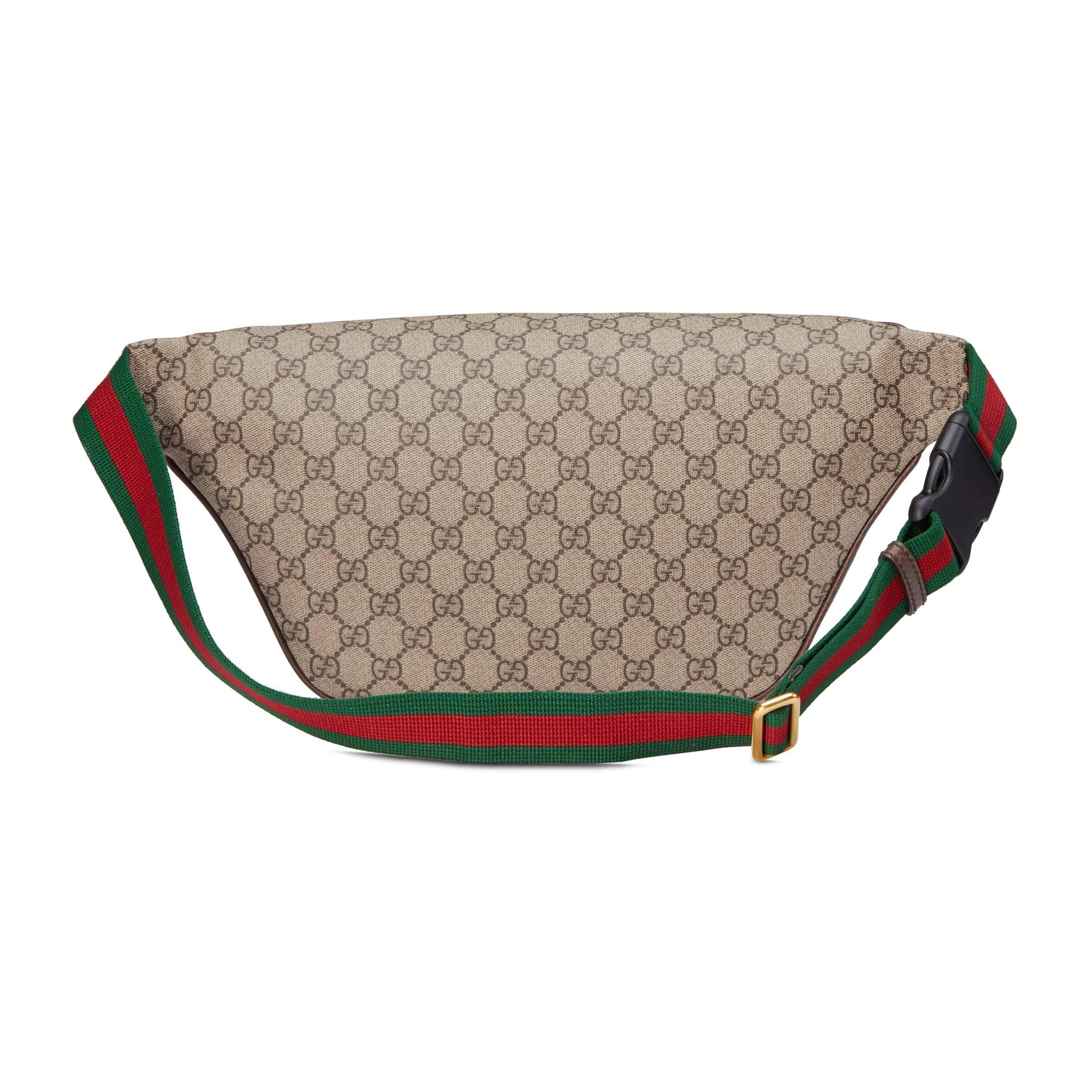 729fc16bd1ca15 Gucci - Natural Courrier GG Supreme Belt Bag for Men - Lyst. View fullscreen