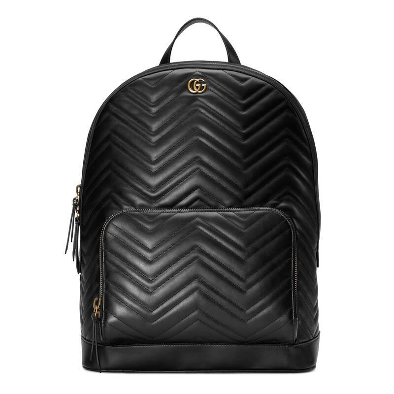 433e0bd5a Gucci Marmont - GG Marmont Matelassé Backpack in White for Men - Lyst