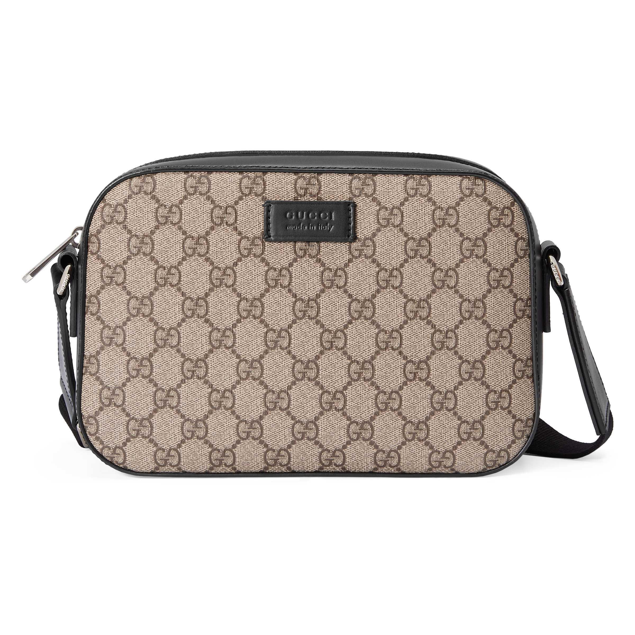 3b4106e66d4e Lyst - Gucci Gg Supreme Small Shoulder Bag for Men