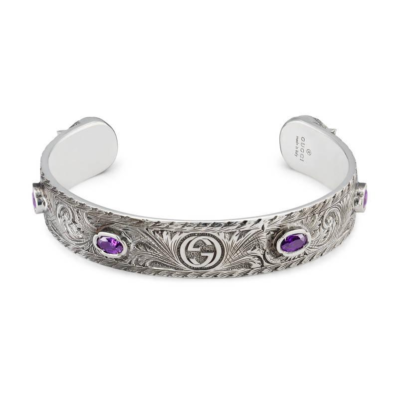 Gucci Le Marché des Merveilles cuff bracelet nAxbG