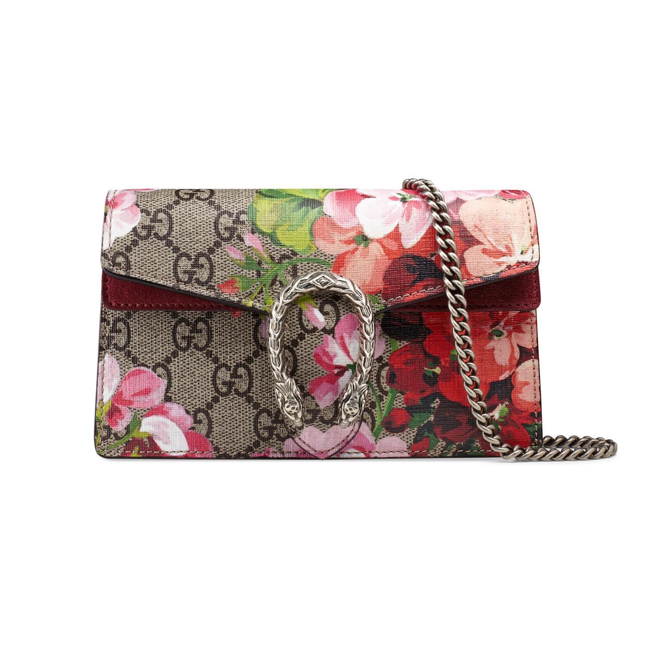 3eea508ec1cc6b Gucci. Women's Dionysus GG Blooms Super Mini Bag