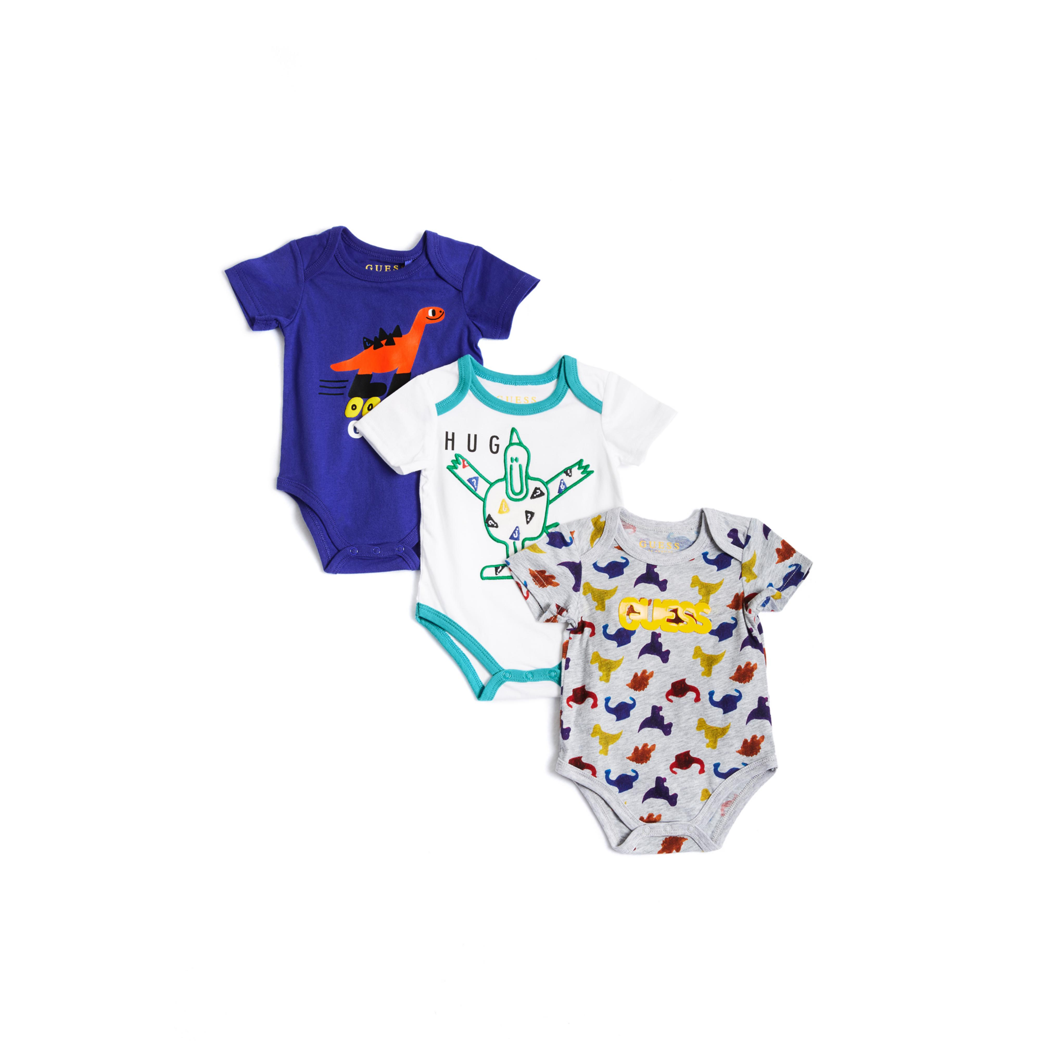 Lyst Guess 3 piece Bodysuit Set 0 24m in Blue