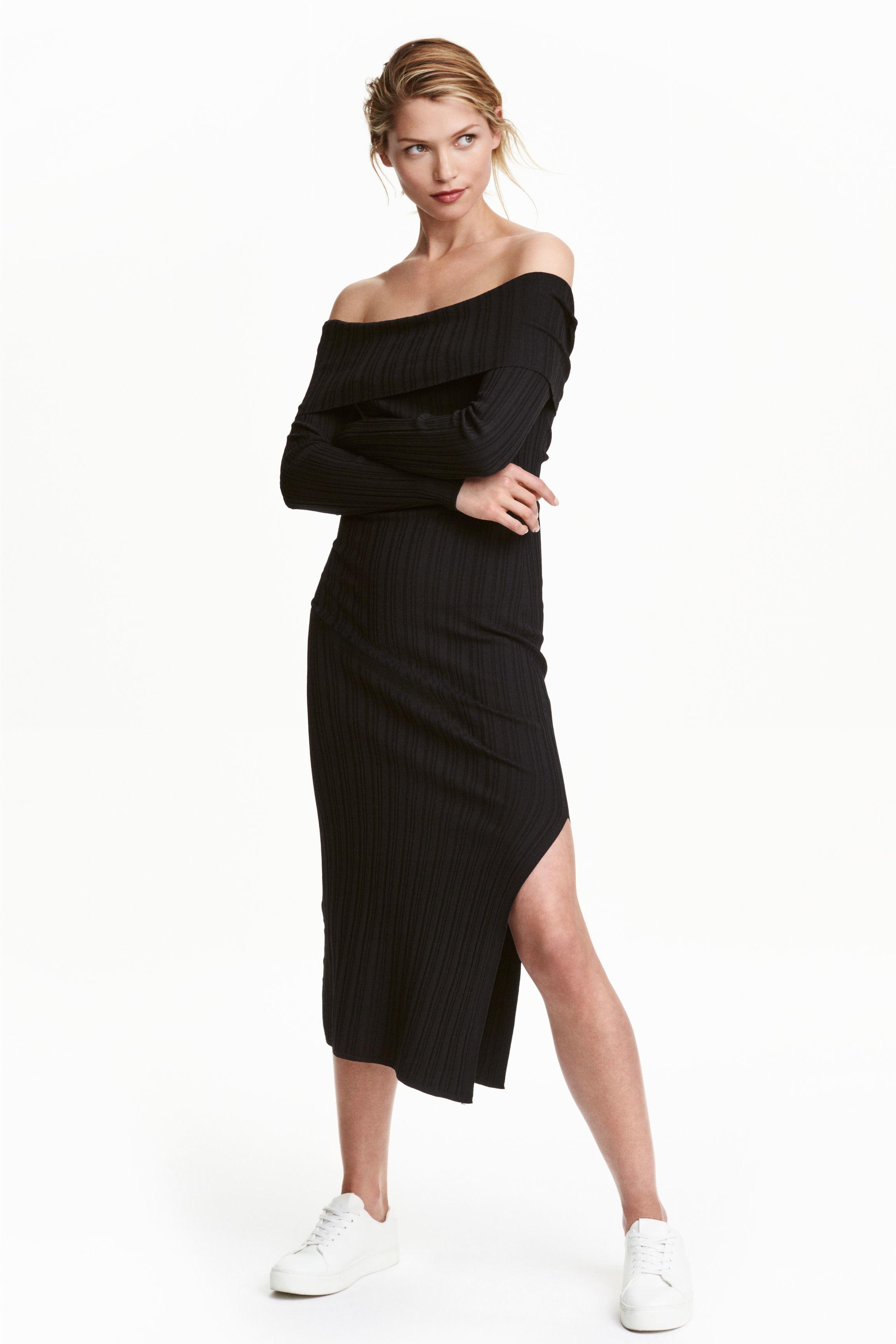 Hm black dress
