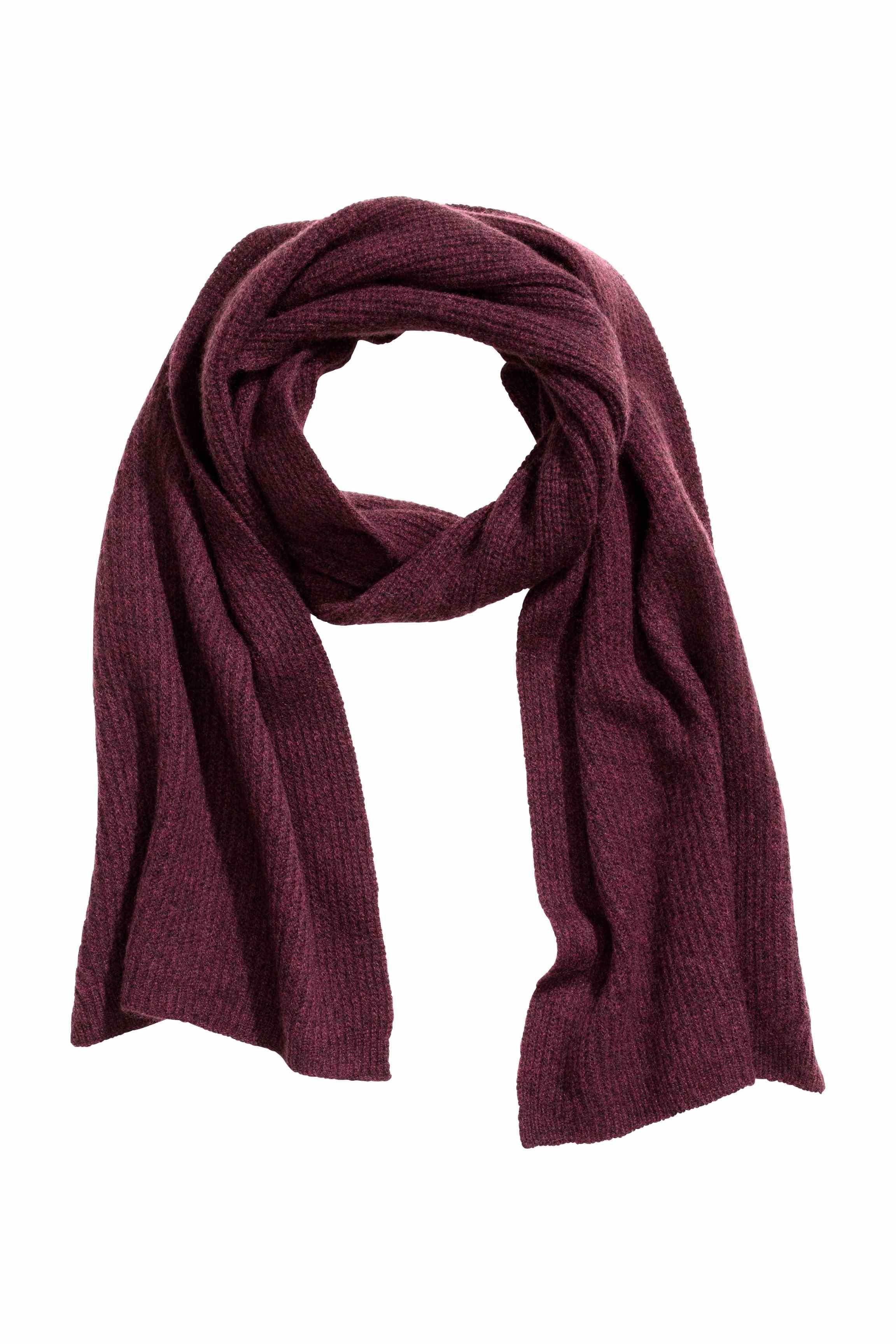 h m scarf in purple lyst