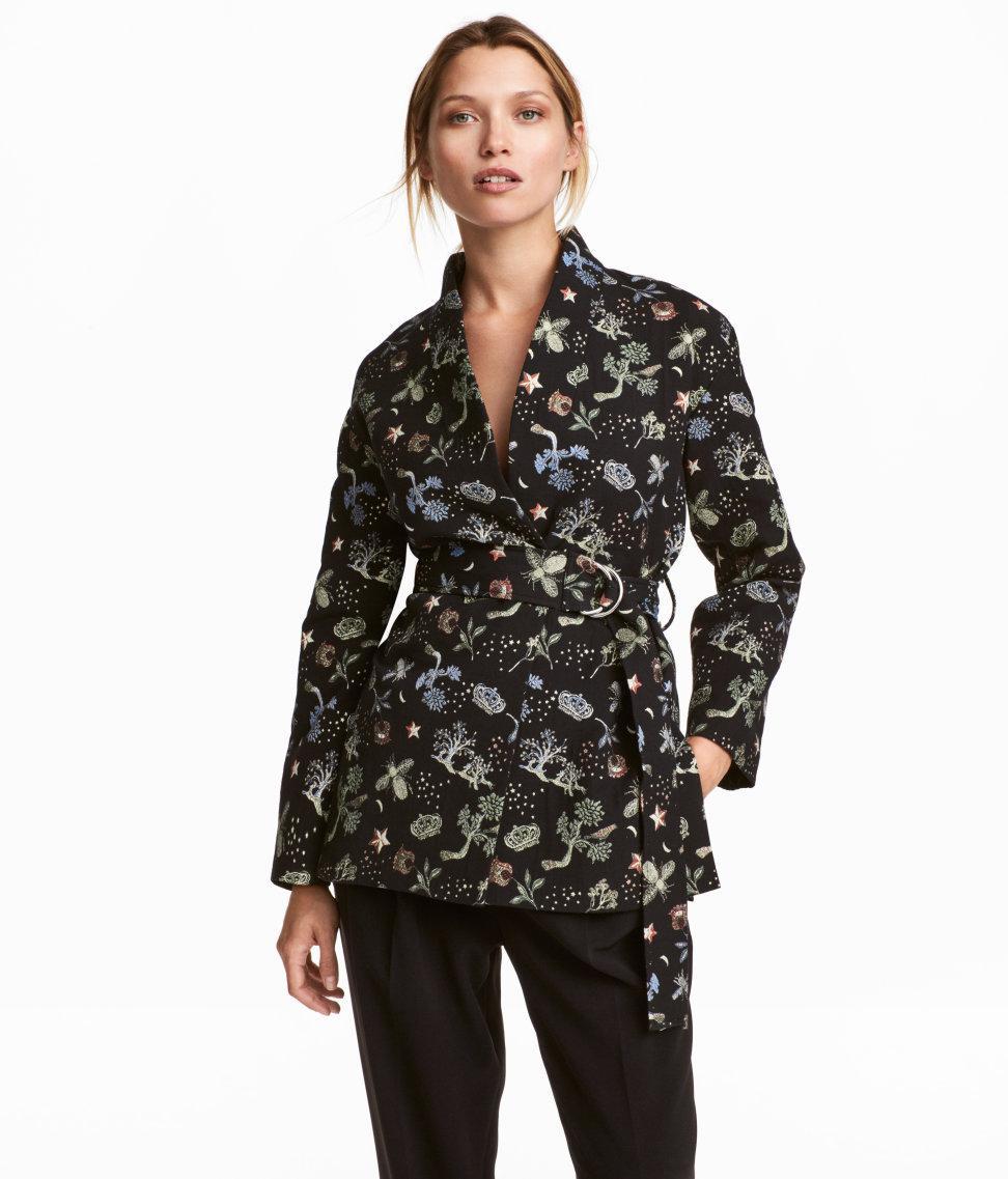 Embroidered Velvet Jacket - $649