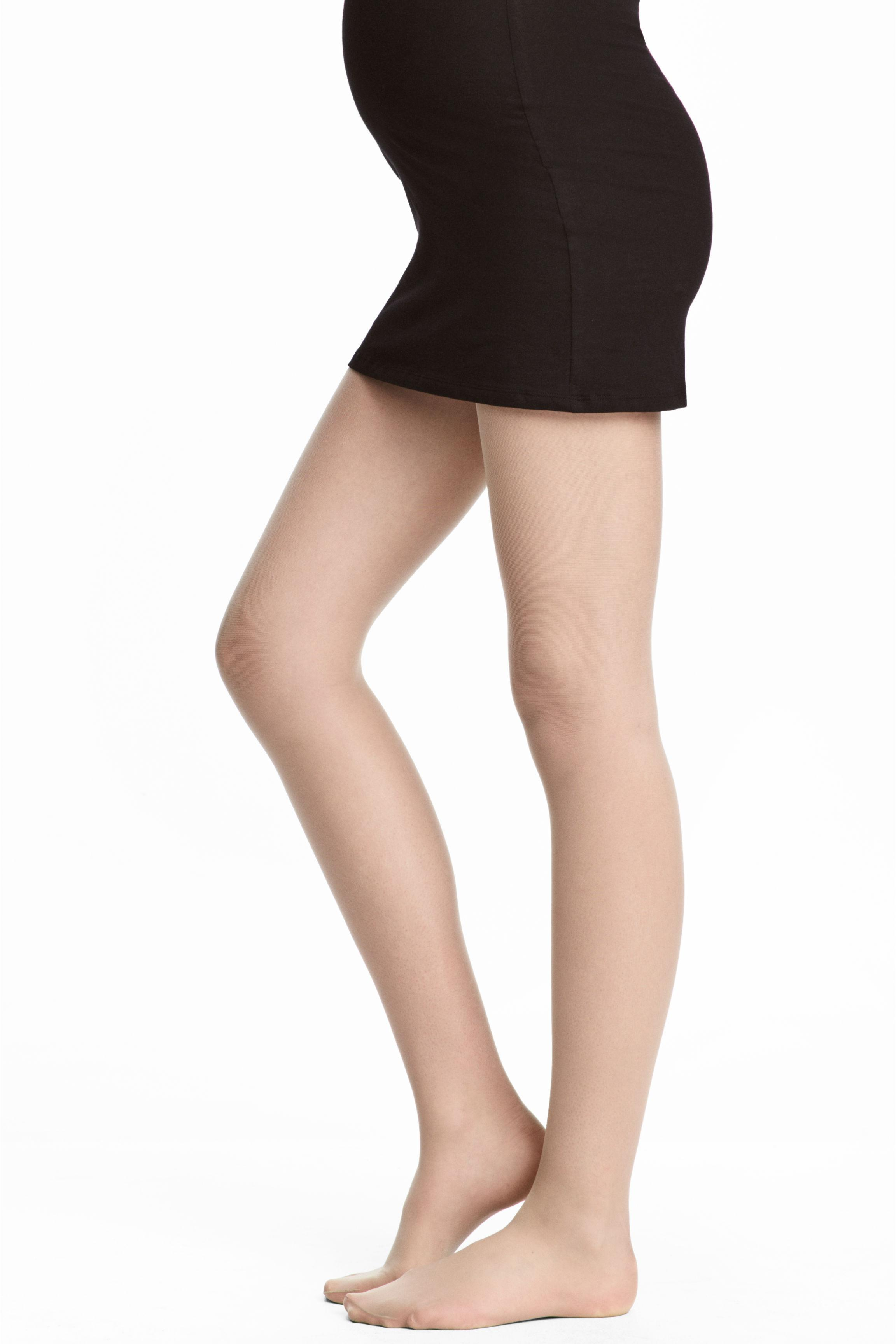 b51d1a23b H M Mama Support Tights 30 Denier in Natural - Lyst