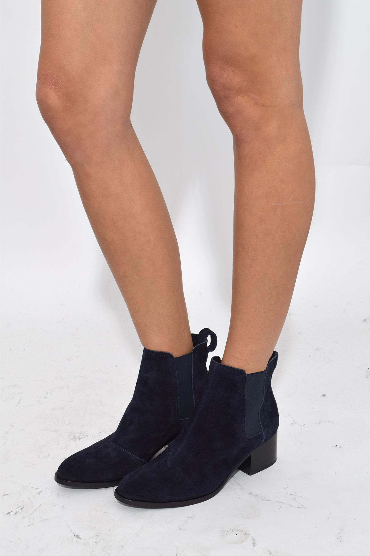 b74be4668e Rag & Bone Walker Boot In Navy Suede in Blue - Lyst