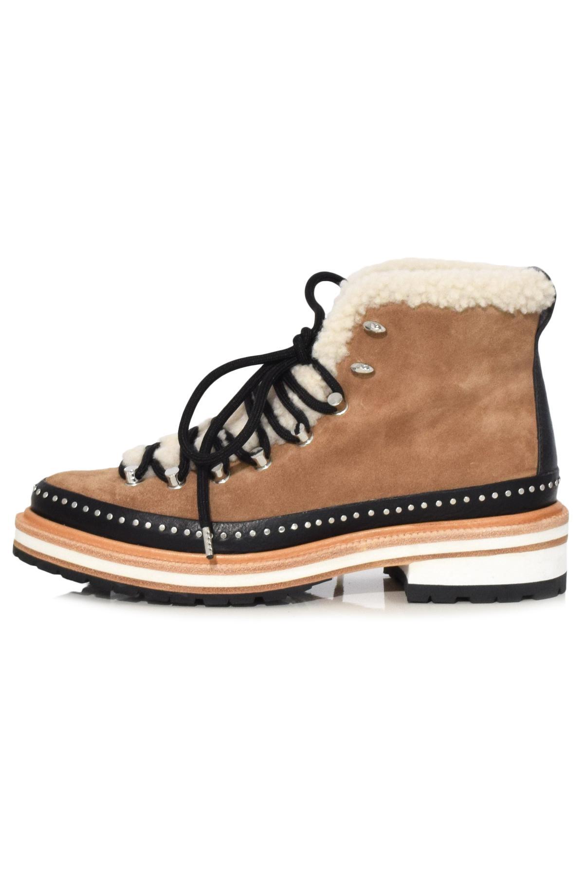 ae3ed544d2e Rag & Bone Compass Boot In Camel/shearling - Lyst