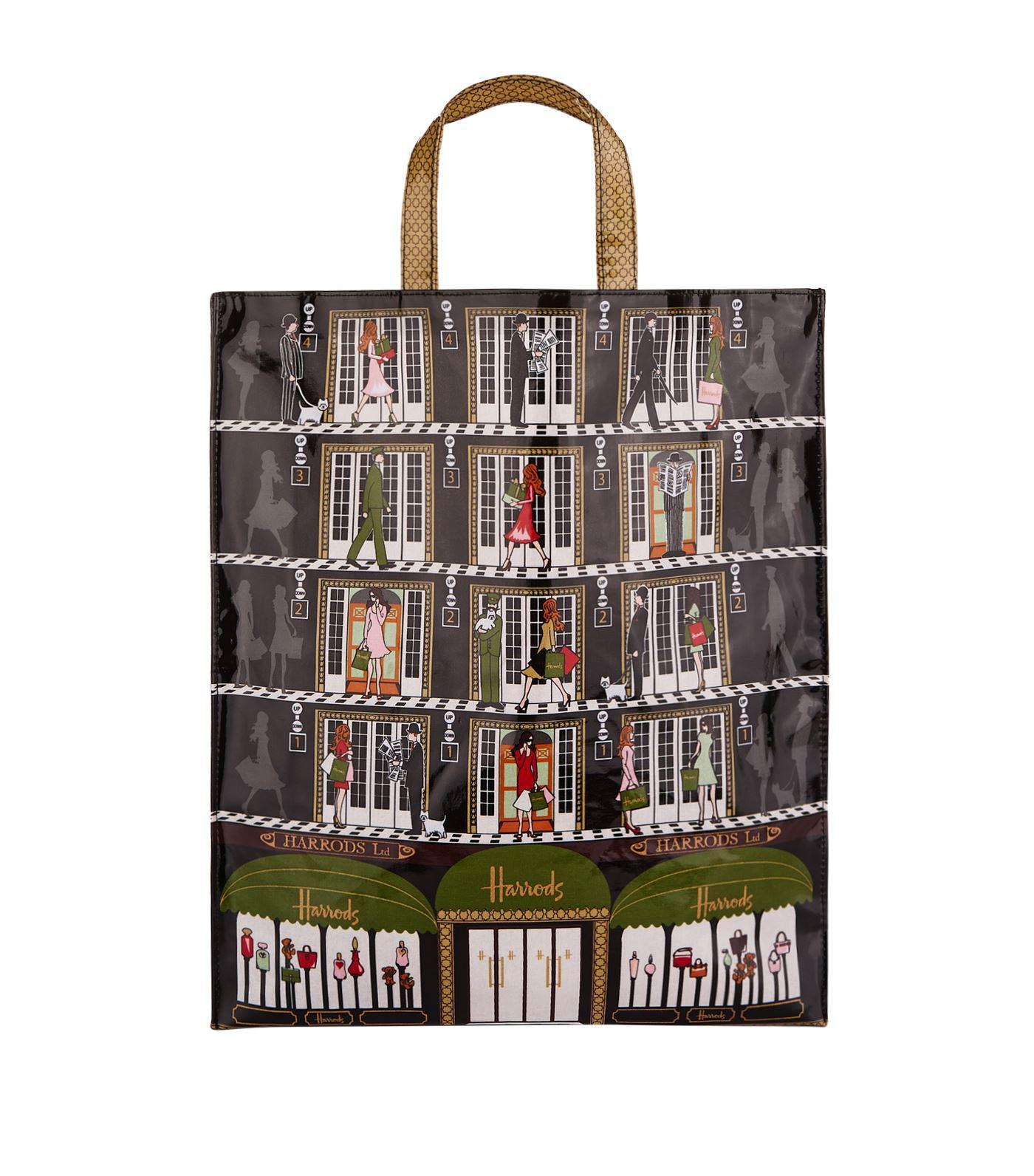 9d1092ff78 Harrods - Multicolor Elevators Large Shopper Bag - Lyst. View fullscreen