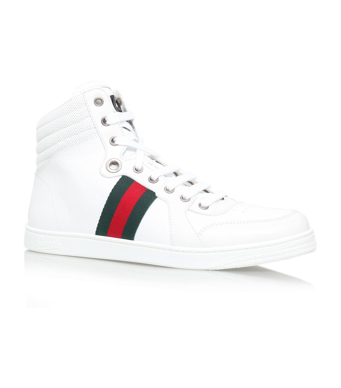 bea80301a6f Lyst - Gucci Coda High-top Sneaker in White for Men
