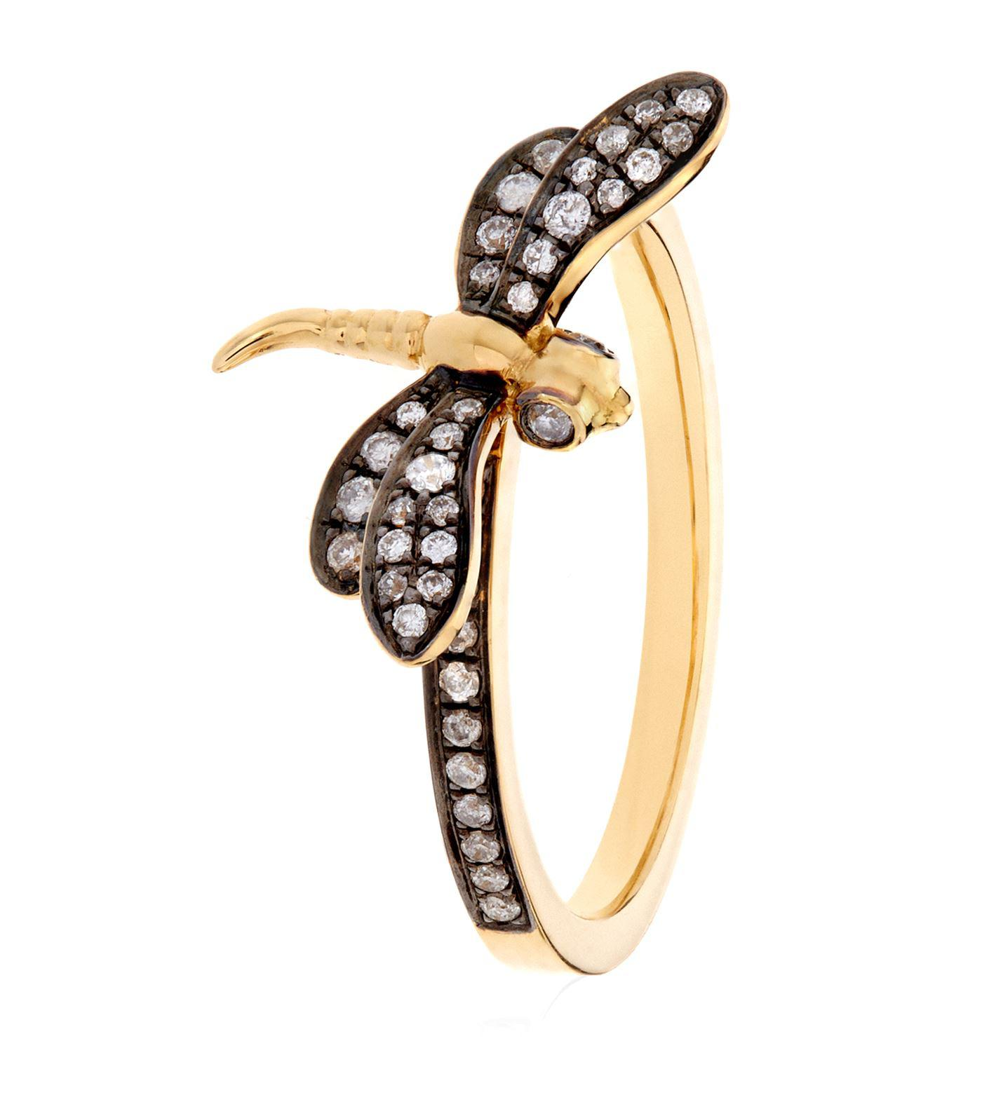 diamonluxe jewelry dragonfly rings engagement luxury of diamond tififi with attachment co