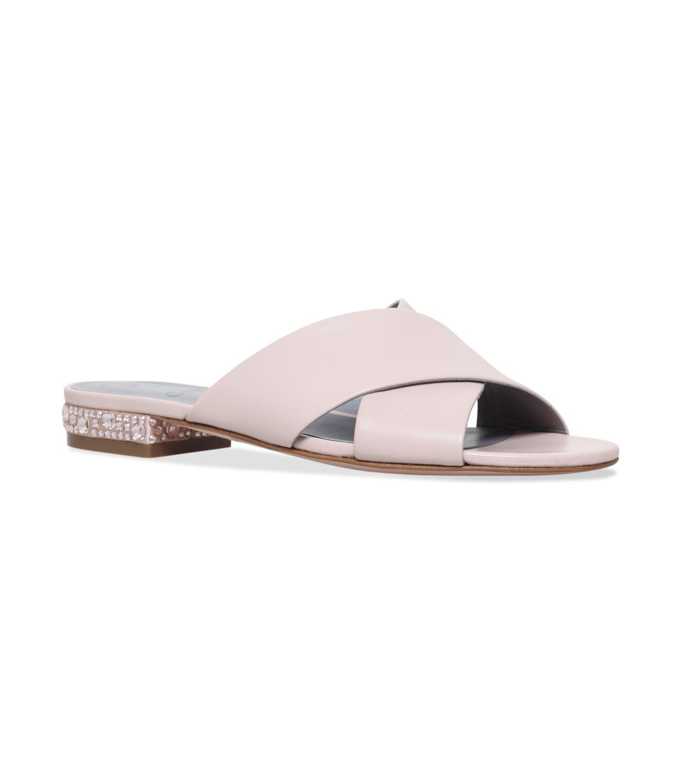 df6824bf1348d Gina Embellished Bourdin Mules 25 in Pink - Lyst