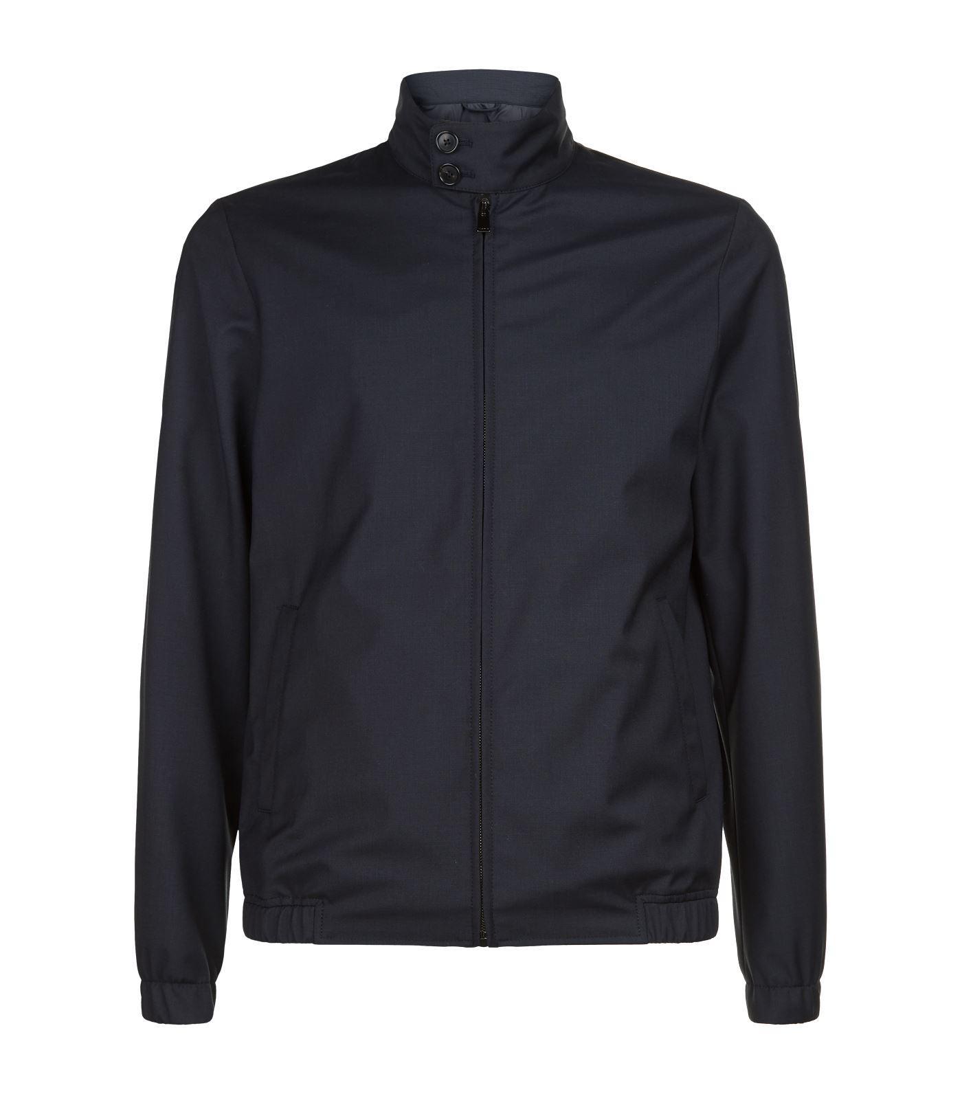 Privée Men's Blue Jacket Ewen Salle Harrington zYO7q7w