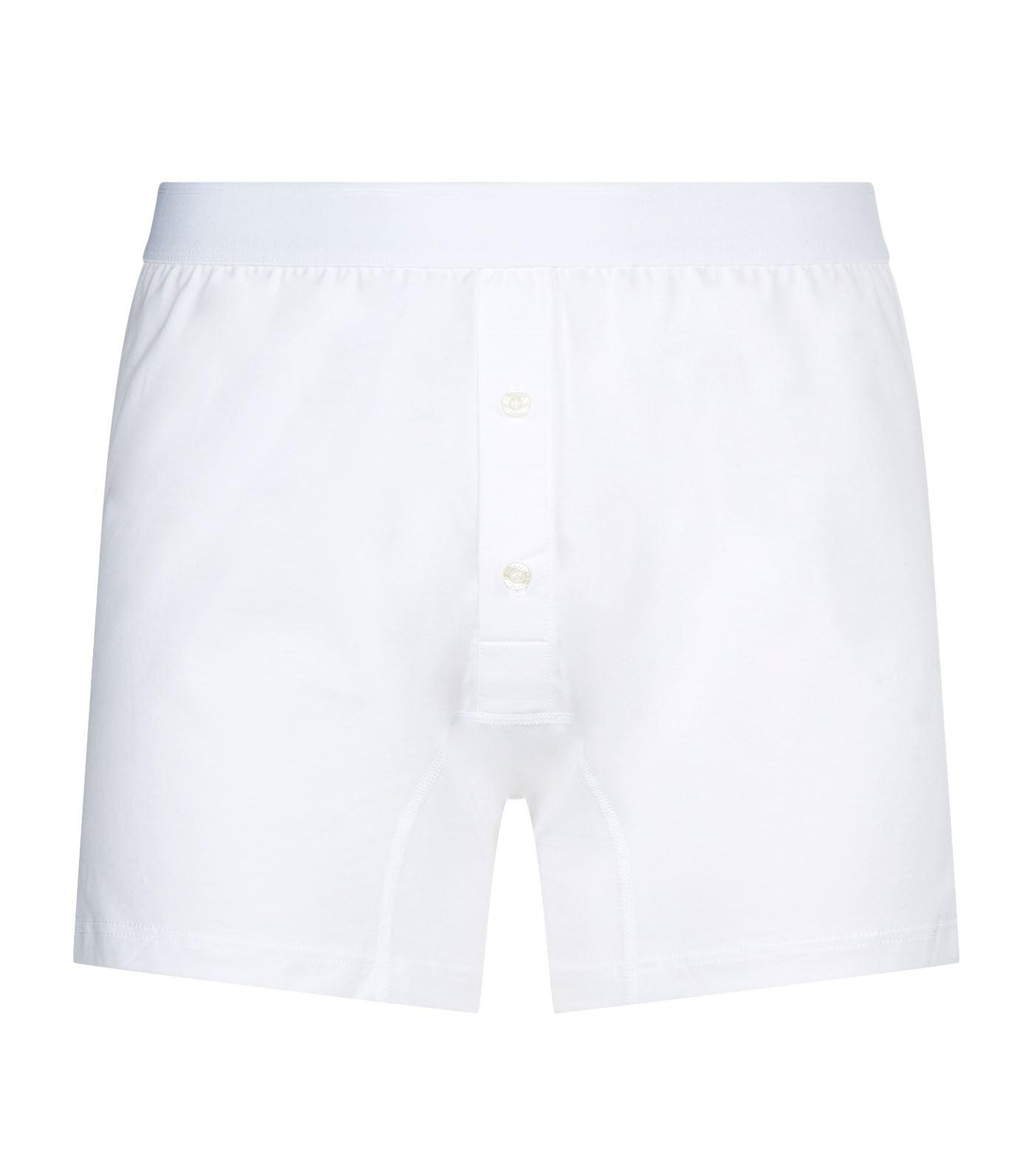 0dce64450451 Lyst - Sunspel Two-button Boxer Briefs in White for Men