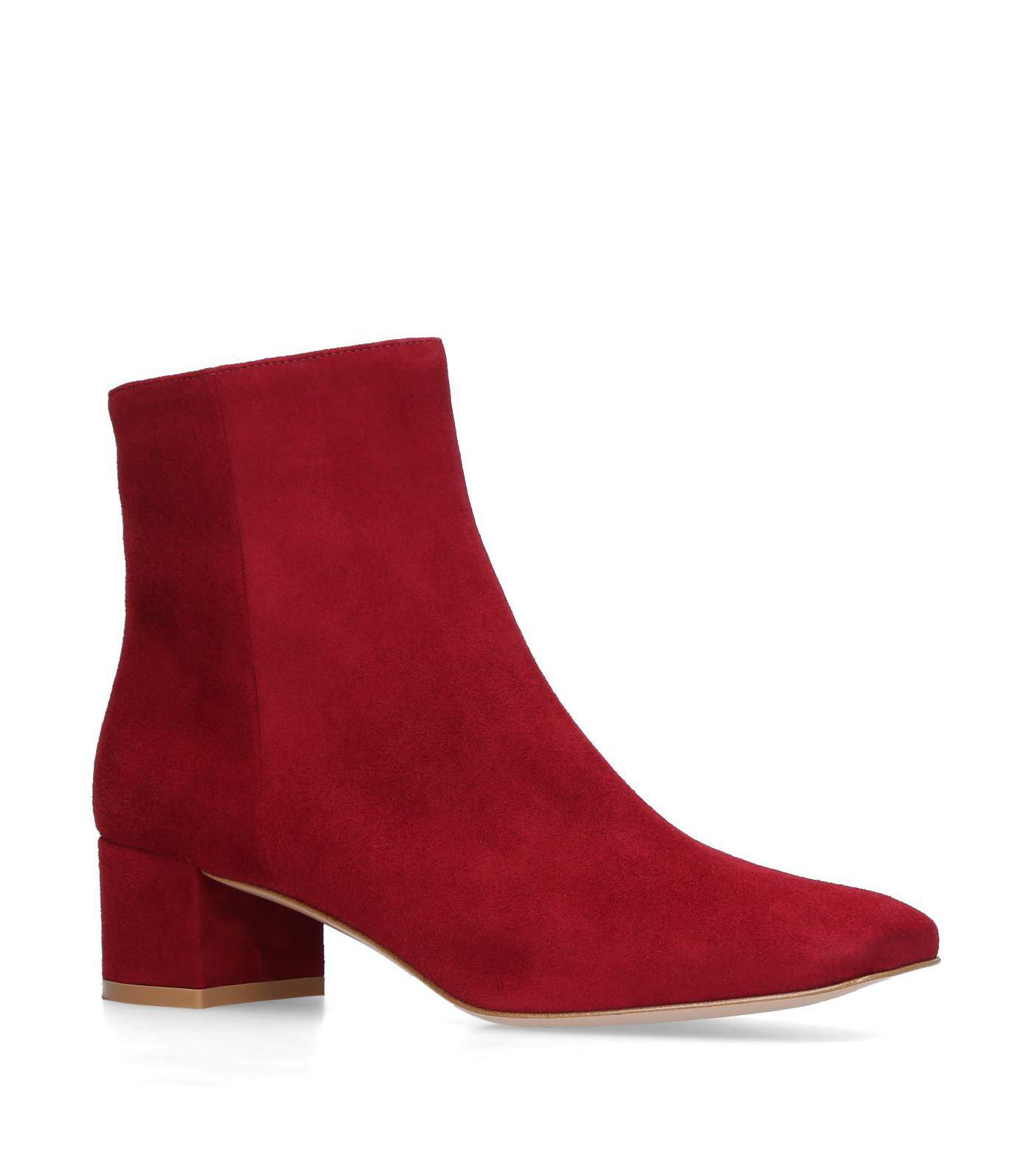 discount codes shopping online Gianvito Rossi Trish suede ankle boots cheap sale explore cheap Inexpensive footlocker pictures online nZy9ZUKo
