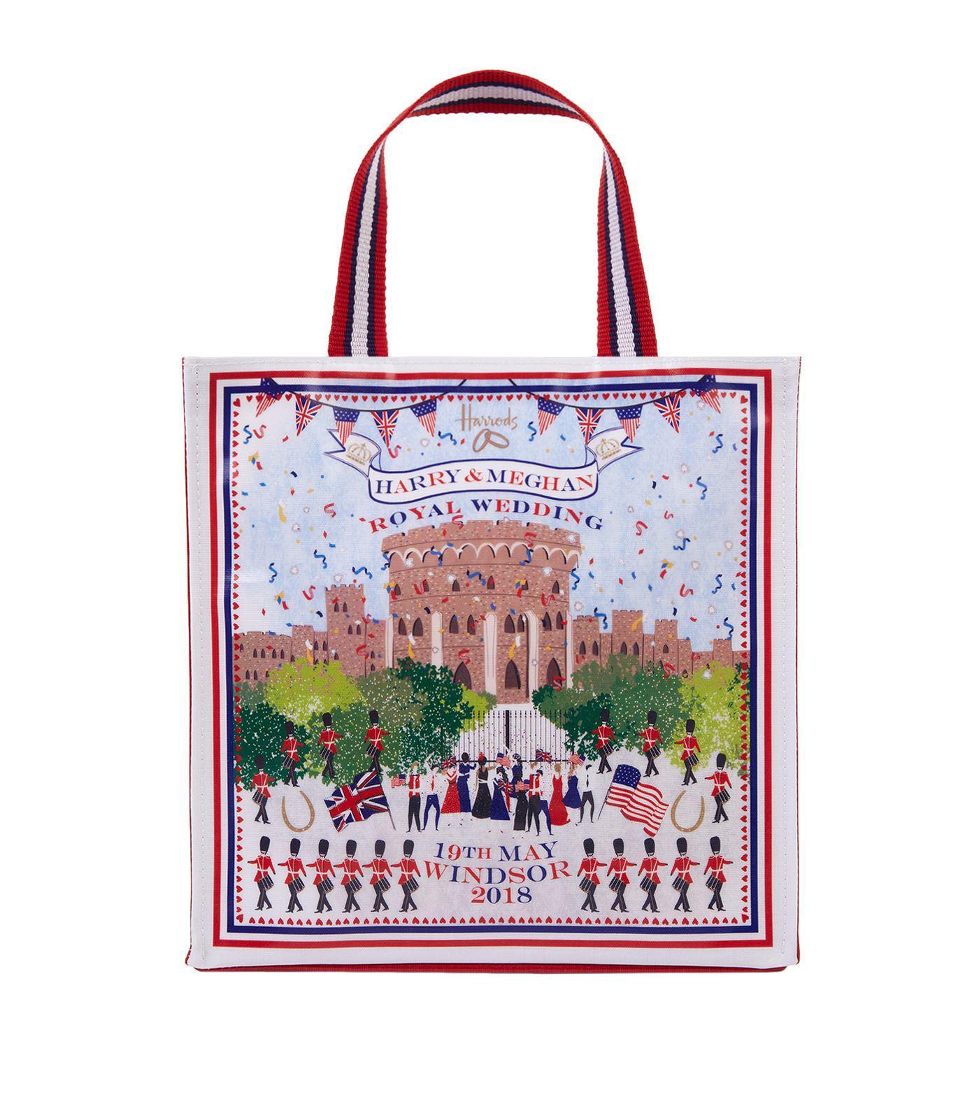Harrods Small Royal Wedding Windsor Per Bag Lyst
