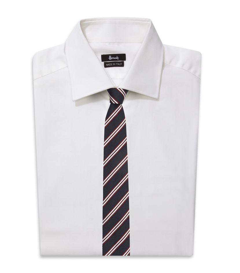 Harrods Multi Stripe Tie in Blue for Men