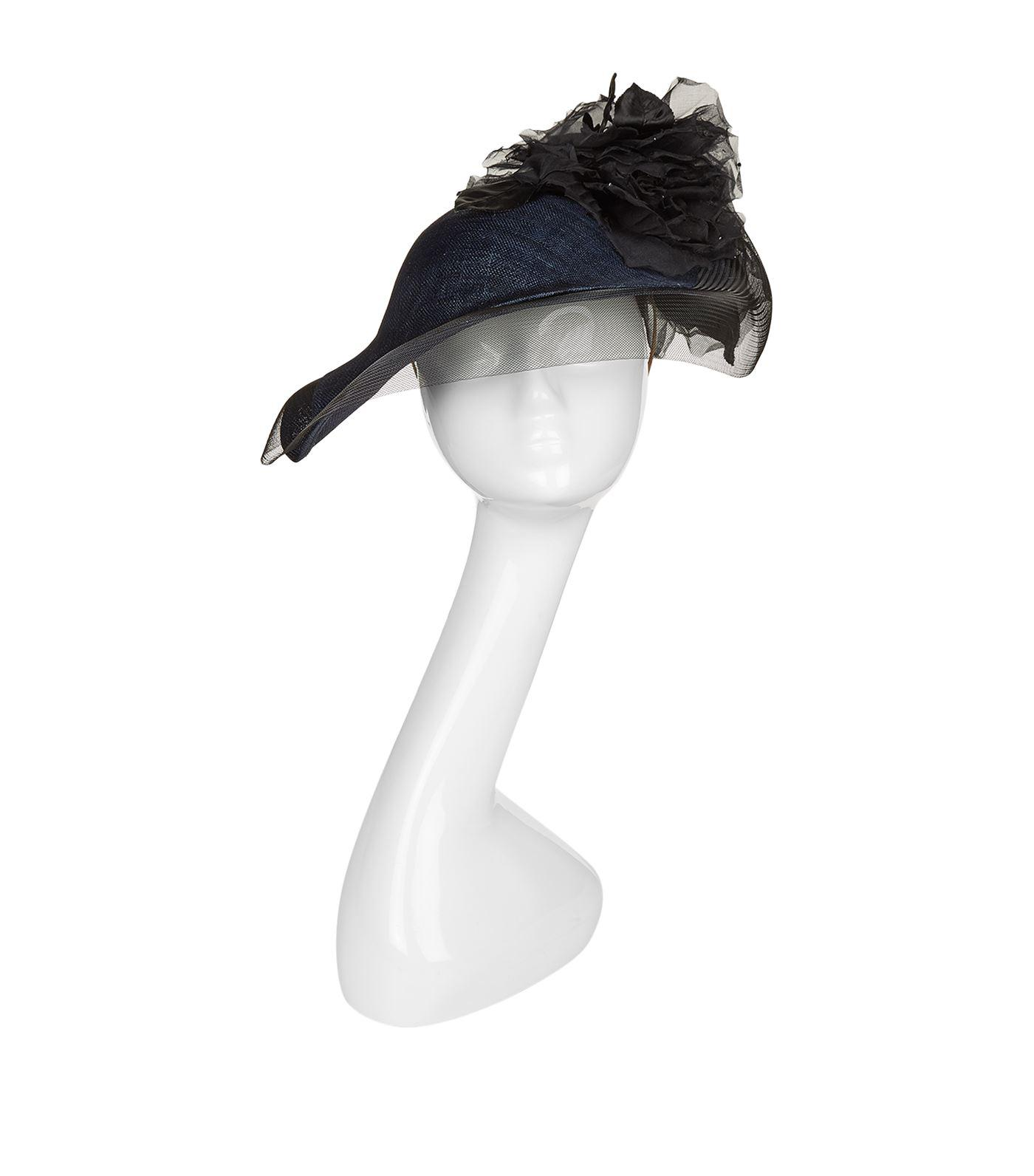 Lyst - Philip Treacy Rosette Aymmetric Headpiece in Blue 1fb11650ecfe