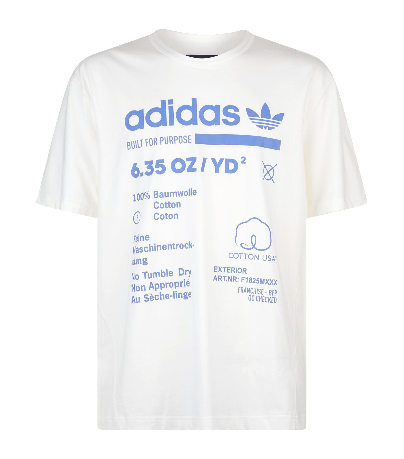 b5159696e Lyst - adidas Originals Kaval T-shirt in White for Men