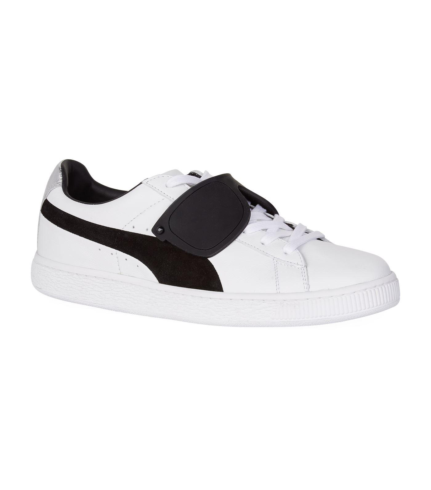 1204d78ad449 PUMA X Karl Lagerfeld Suede Sneakers in White - Lyst