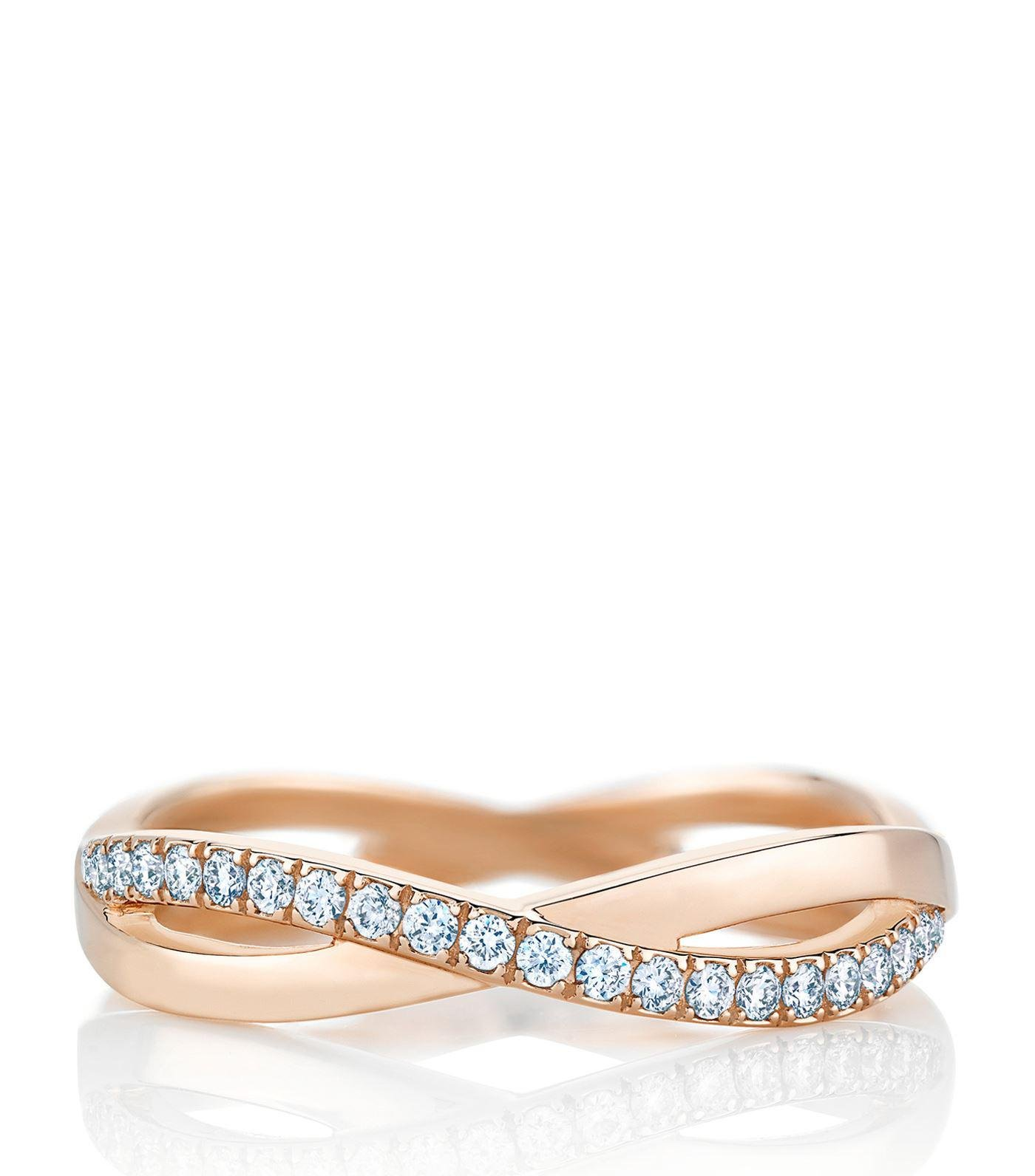 bands wedding gold eternity zirconia tiffany infinity rings band ring cubic meaning