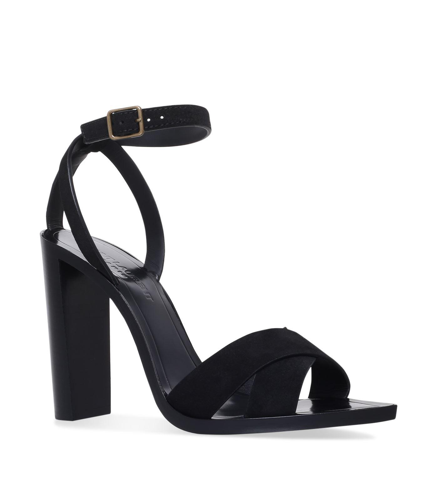 Tanger sandals - Black Saint Laurent l7TaN9xkg