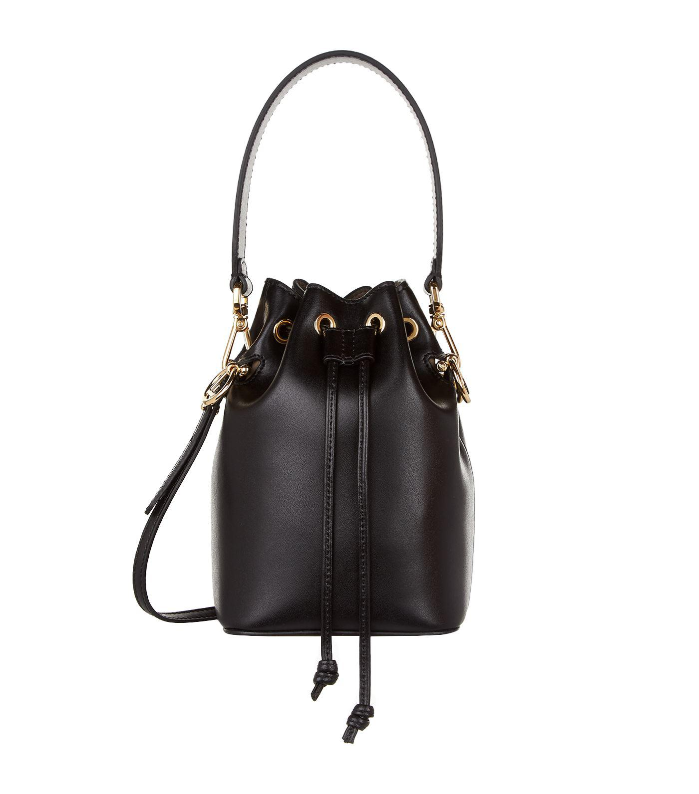 ... sweden lyst fendi mini leather mon tresor bucket bag white one size in  b2246 07119 c2023b6221