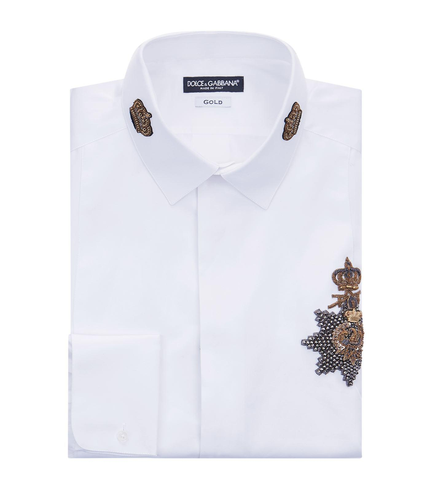 Many Kinds Of Cheap Price Outlet Store Locations Dolce & Gabbana embellished shirt Sale Release Dates Cheap Price Discount Authentic xBbZHDJgp