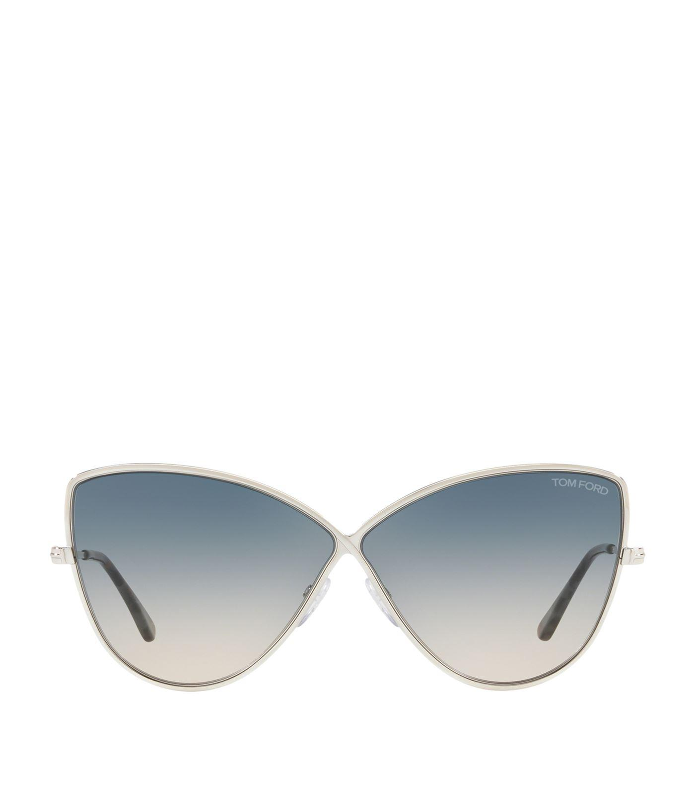 798f20d05c6a Lyst - Tom Ford Elise Sunglasses in Gray