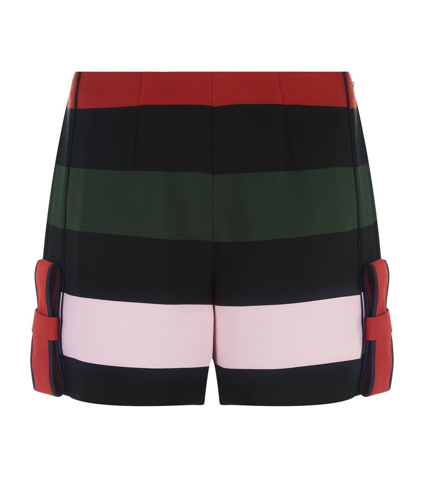 6406345b6 Lyst - Ted Baker Marii Stripe Shorts in Black