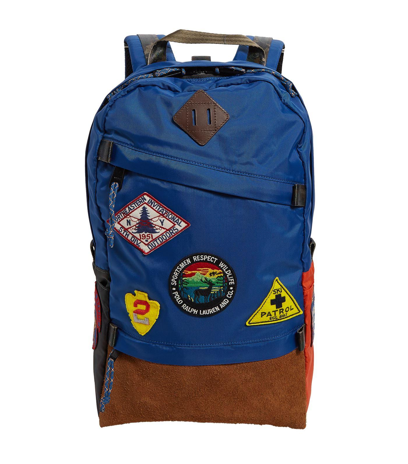 445dbc2424 Polo Ralph Lauren Great Outdoors Backpack in Blue for Men - Lyst