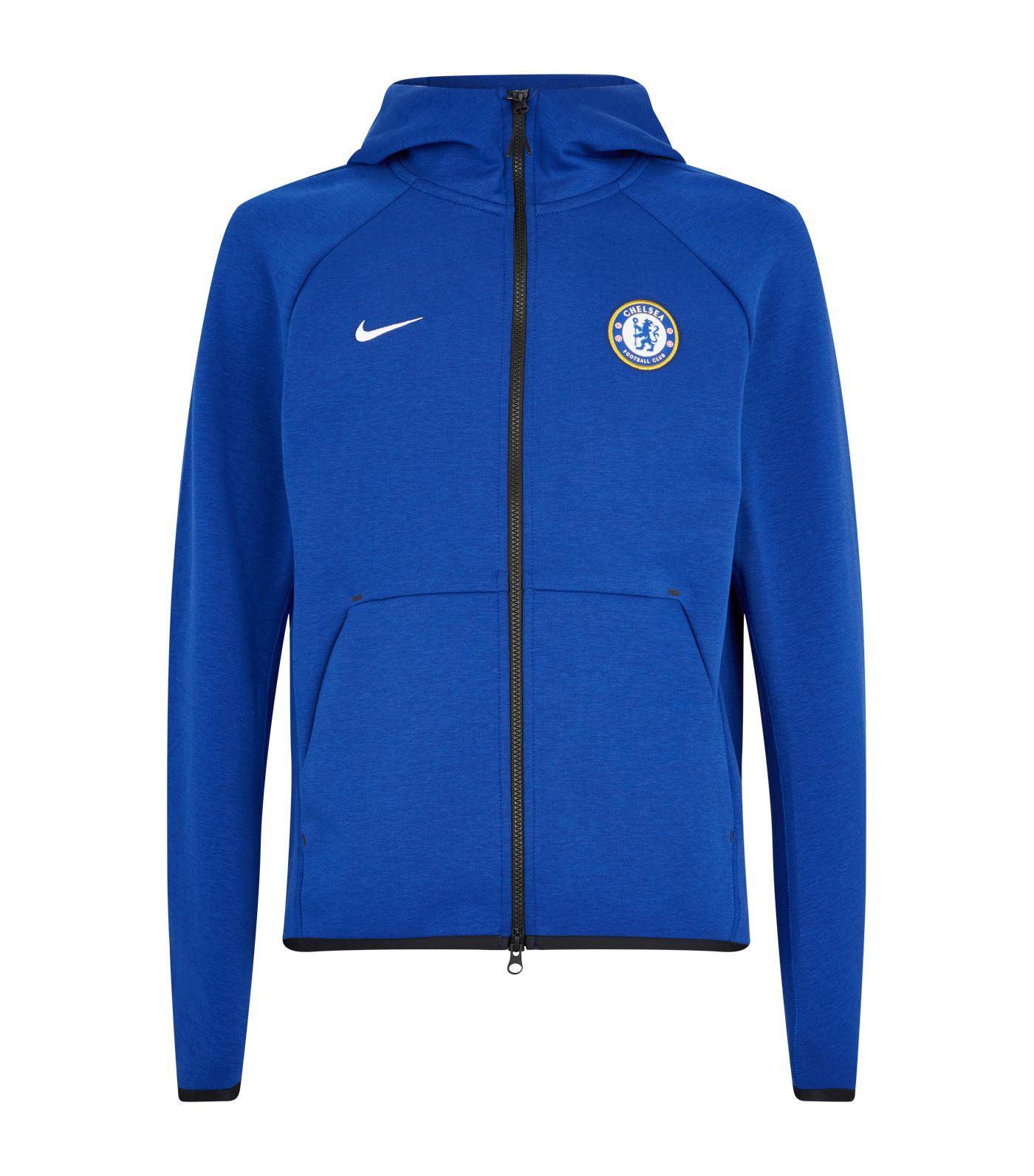 e0d6eee1a Nike Chelsea Fc Zip-through Hoodie in Blue for Men - Lyst