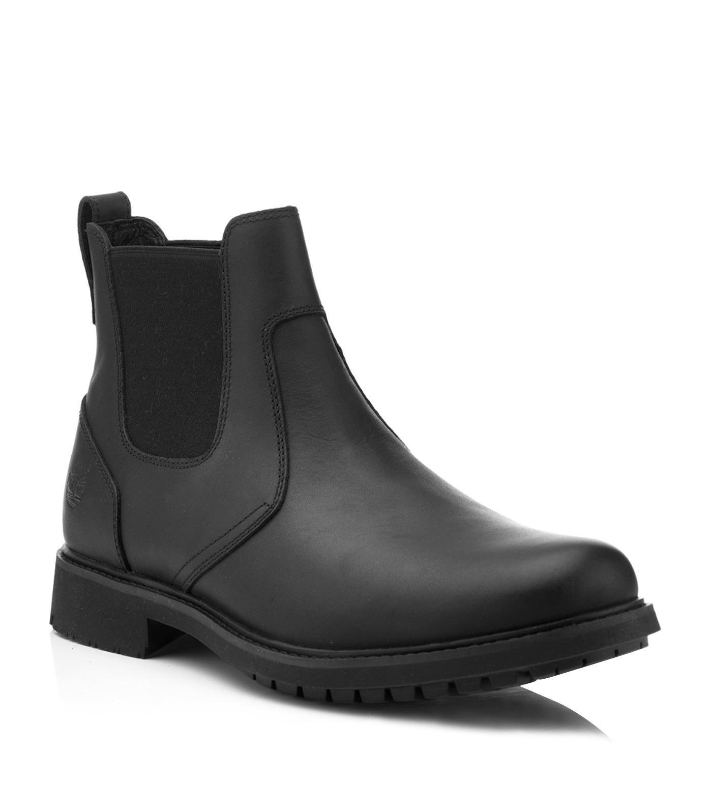 timberland earthkeepers stormbuck chelsea boots in black for men lyst. Black Bedroom Furniture Sets. Home Design Ideas